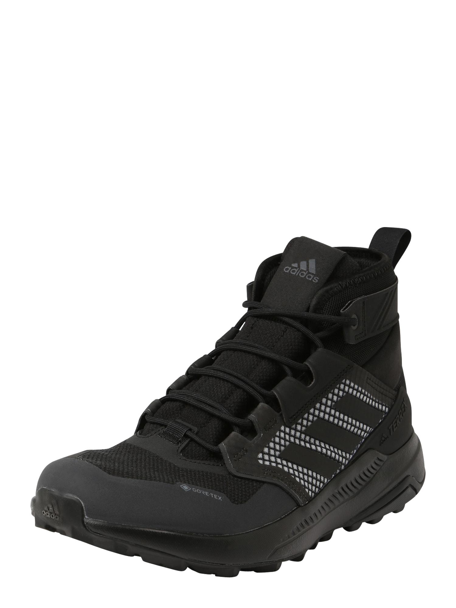 ADIDAS PERFORMANCE Auliniai batai juoda / balta