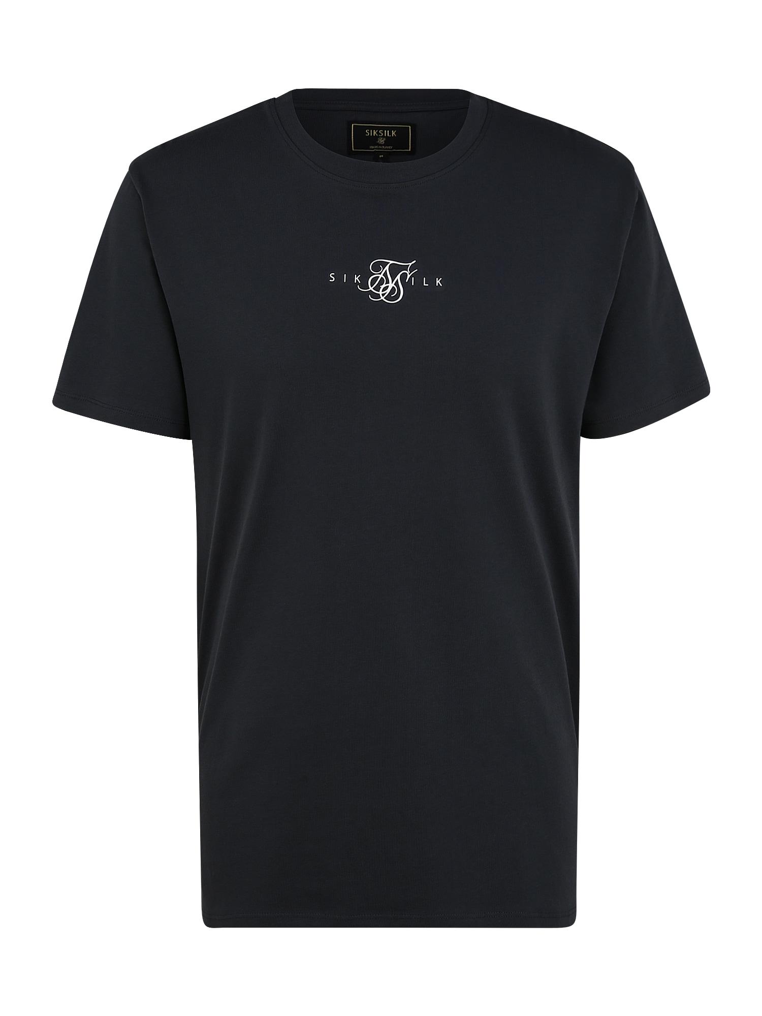 SikSilk Marškinėliai tamsiai mėlyna