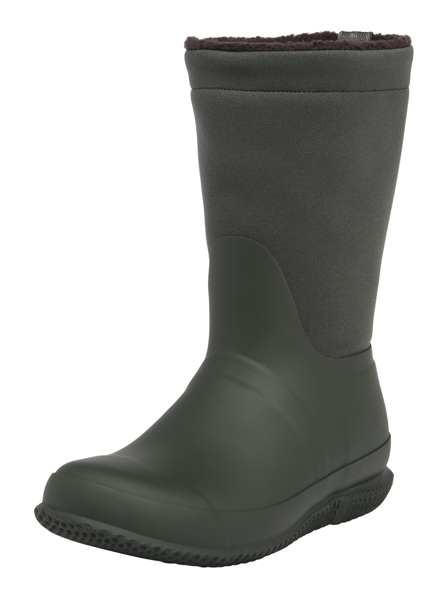 HUNTER Guminiai batai alyvuogių spalva