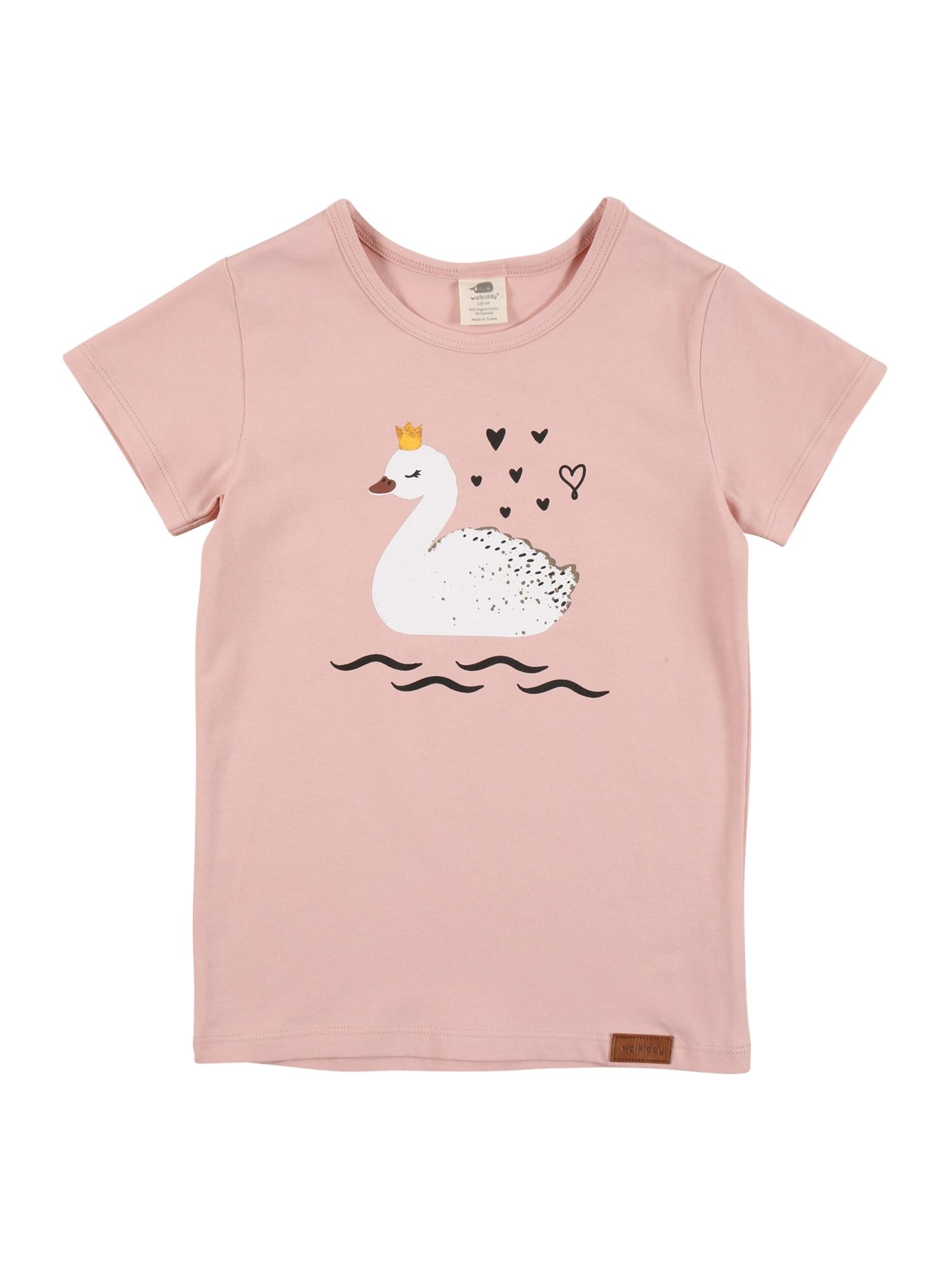 Walkiddy Marškinėliai rožinė / mišrios spalvos