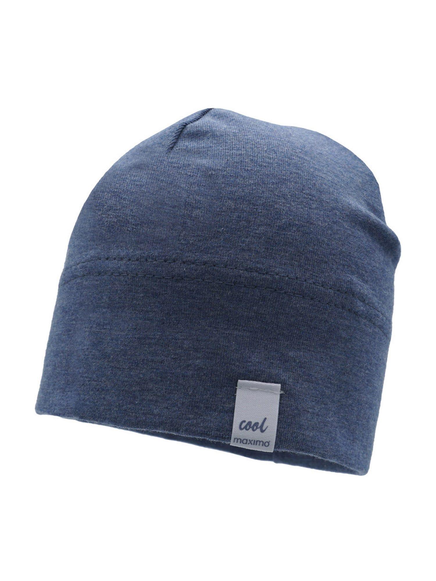 MAXIMO Megzta kepurė nakties mėlyna