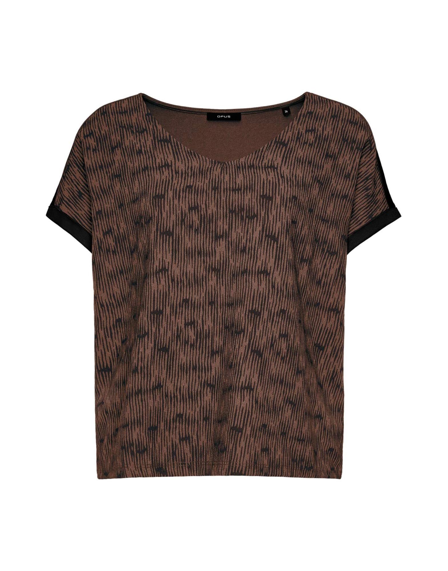 OPUS Marškinėliai ruda