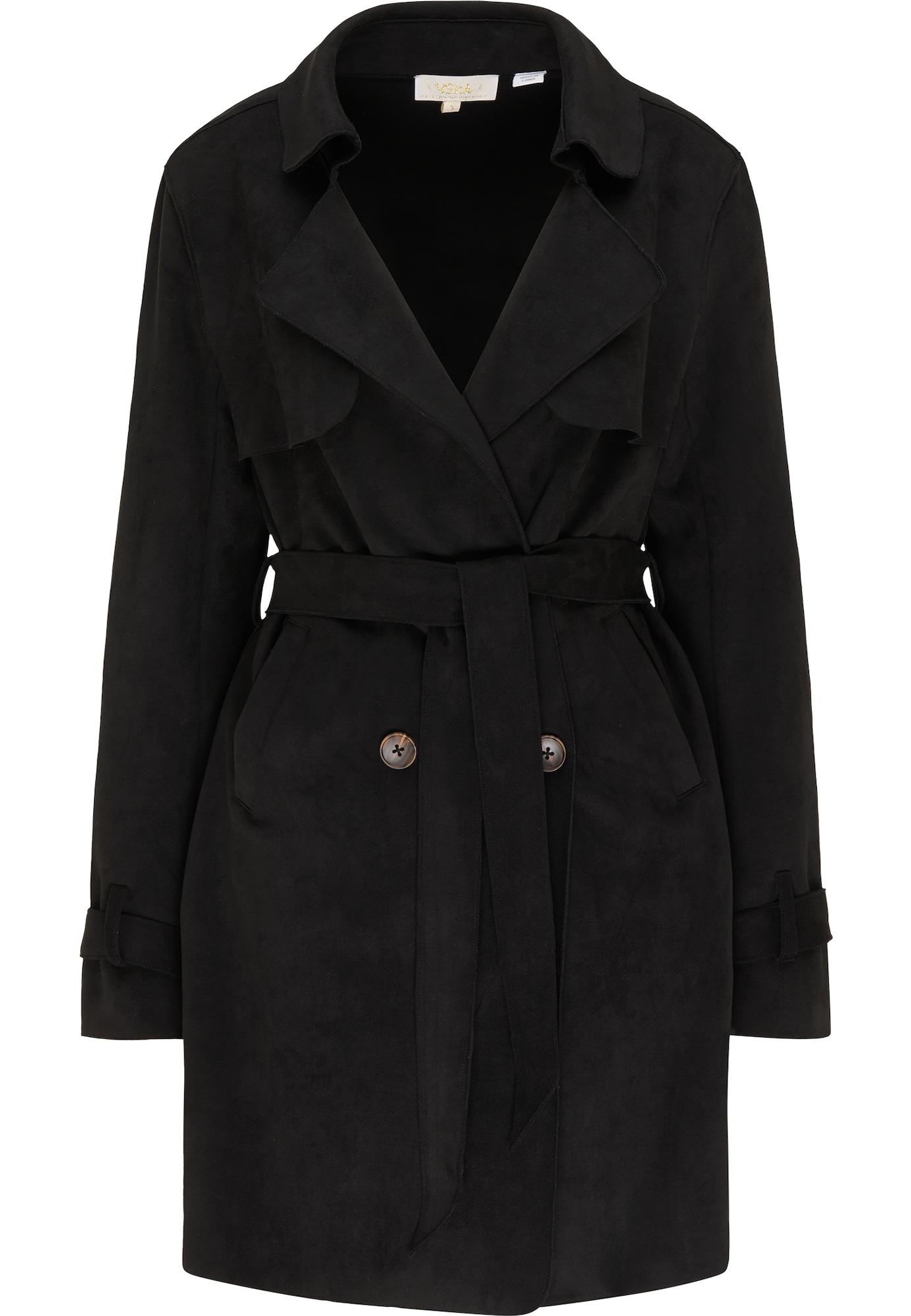 usha FESTIVAL Demisezoninis paltas juoda