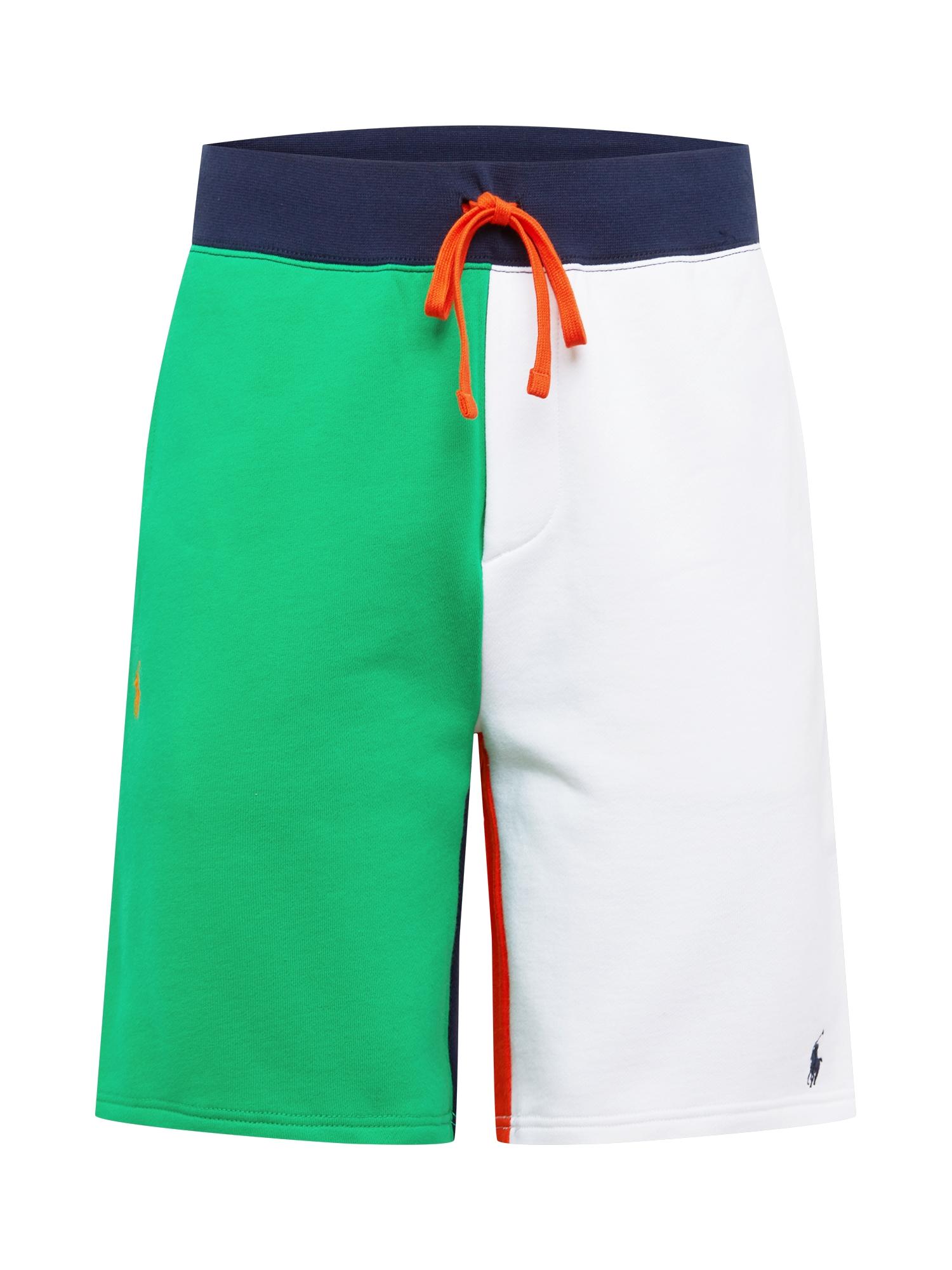 POLO RALPH LAUREN Kelnės žalia / balta / oranžinė / tamsiai mėlyna / mėlyna
