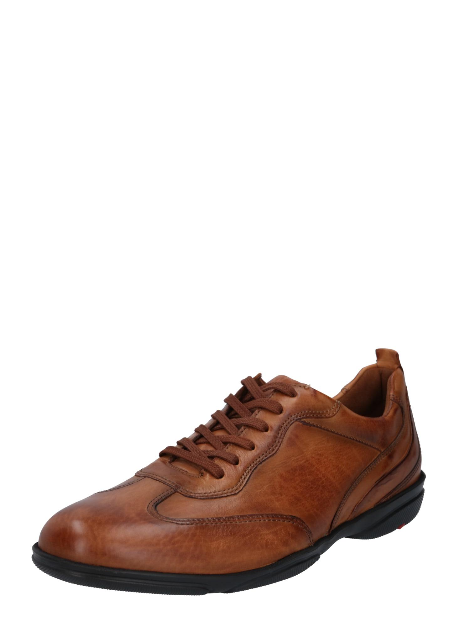 LLOYD Sportinio stiliaus batai su raišteliais ruda