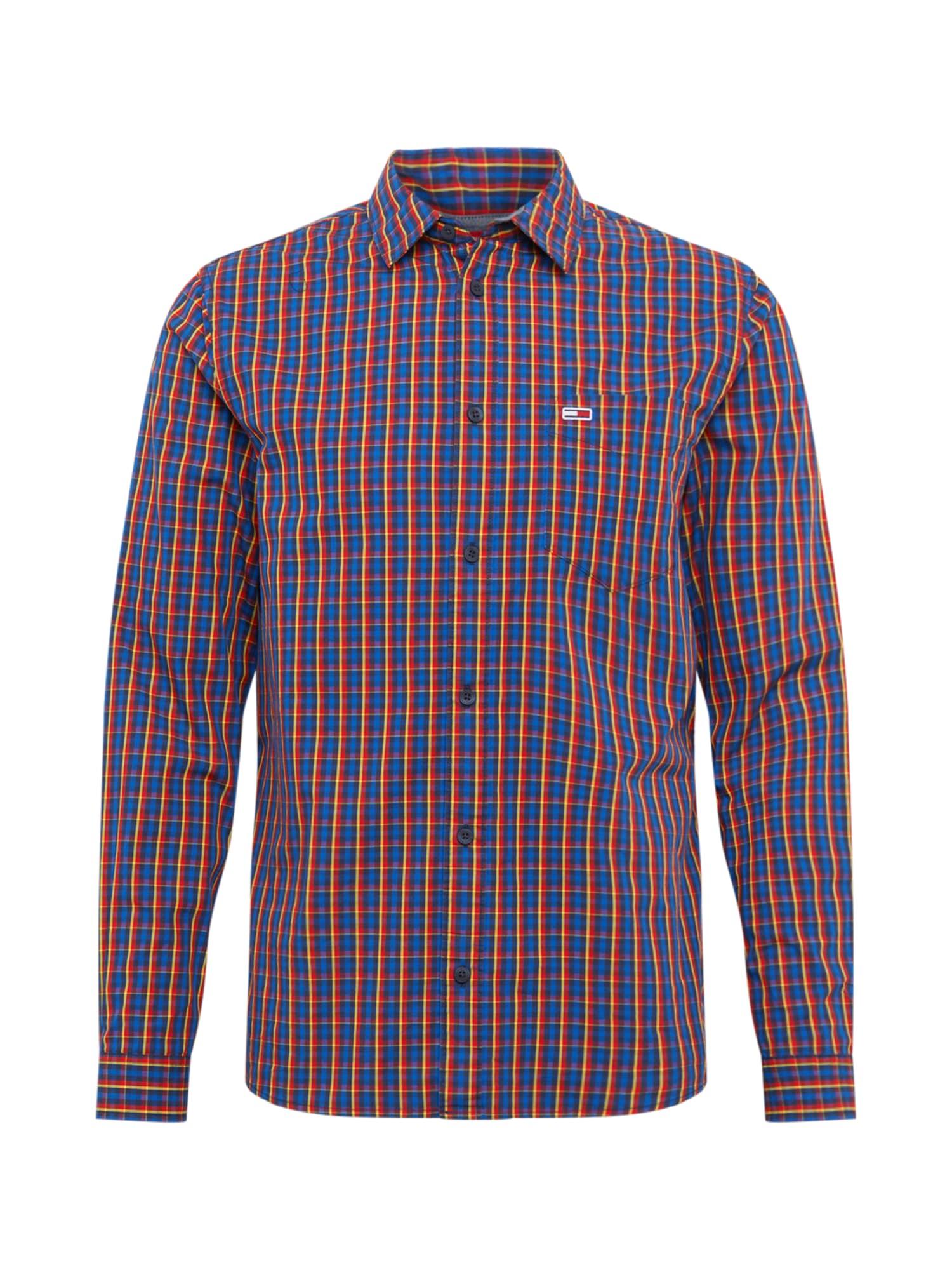 Tommy Jeans Košile  námořnická modř / mix barev