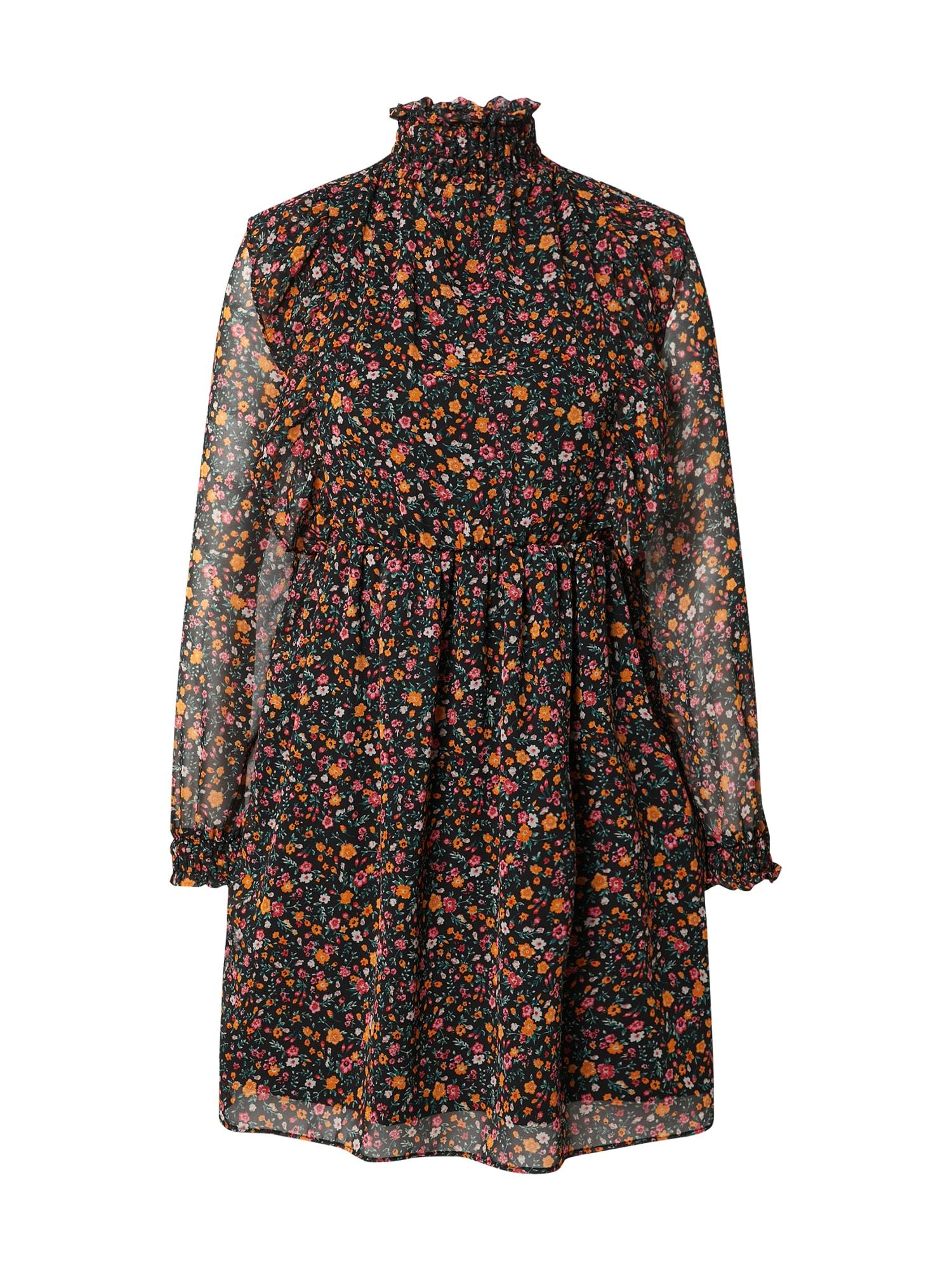 DeFacto Suknelė juoda / mišrios spalvos
