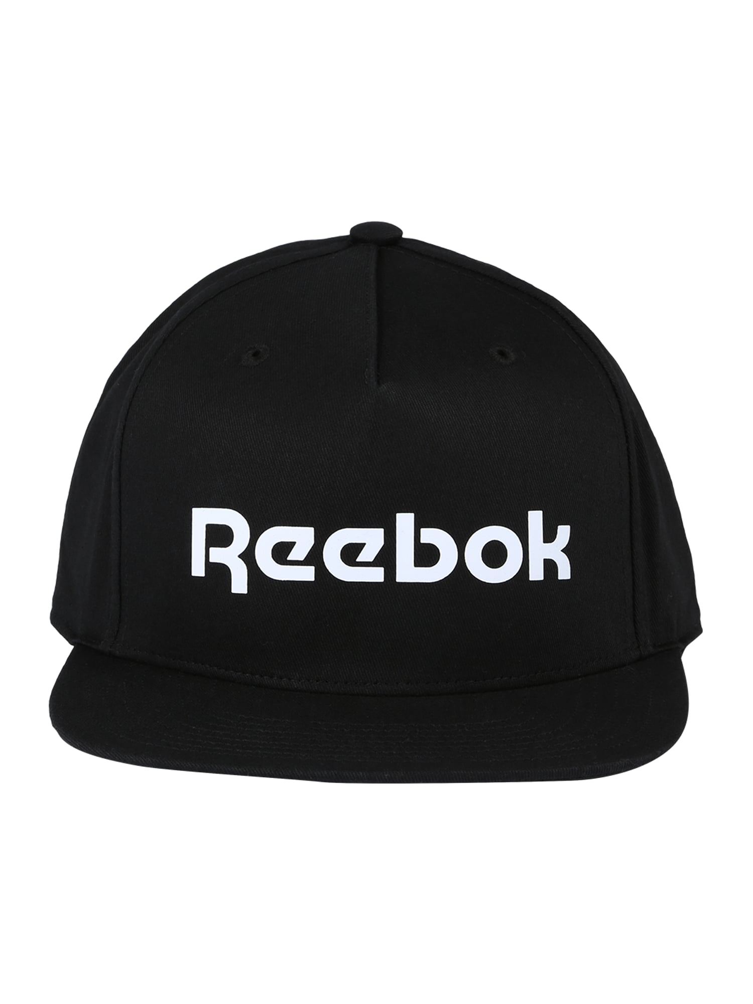 REEBOK Sportinė kepurė juoda / balta