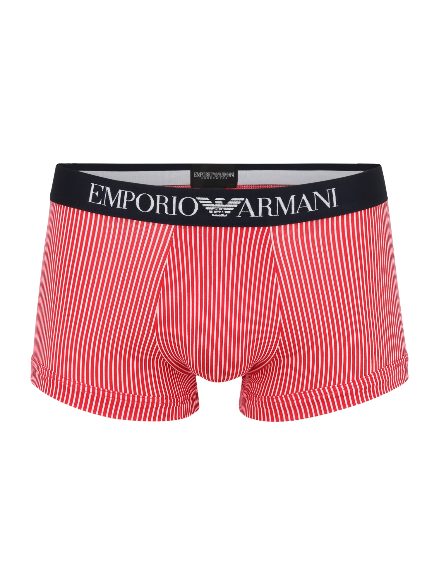 Emporio Armani Boxer trumpikės raudona / balta / juoda