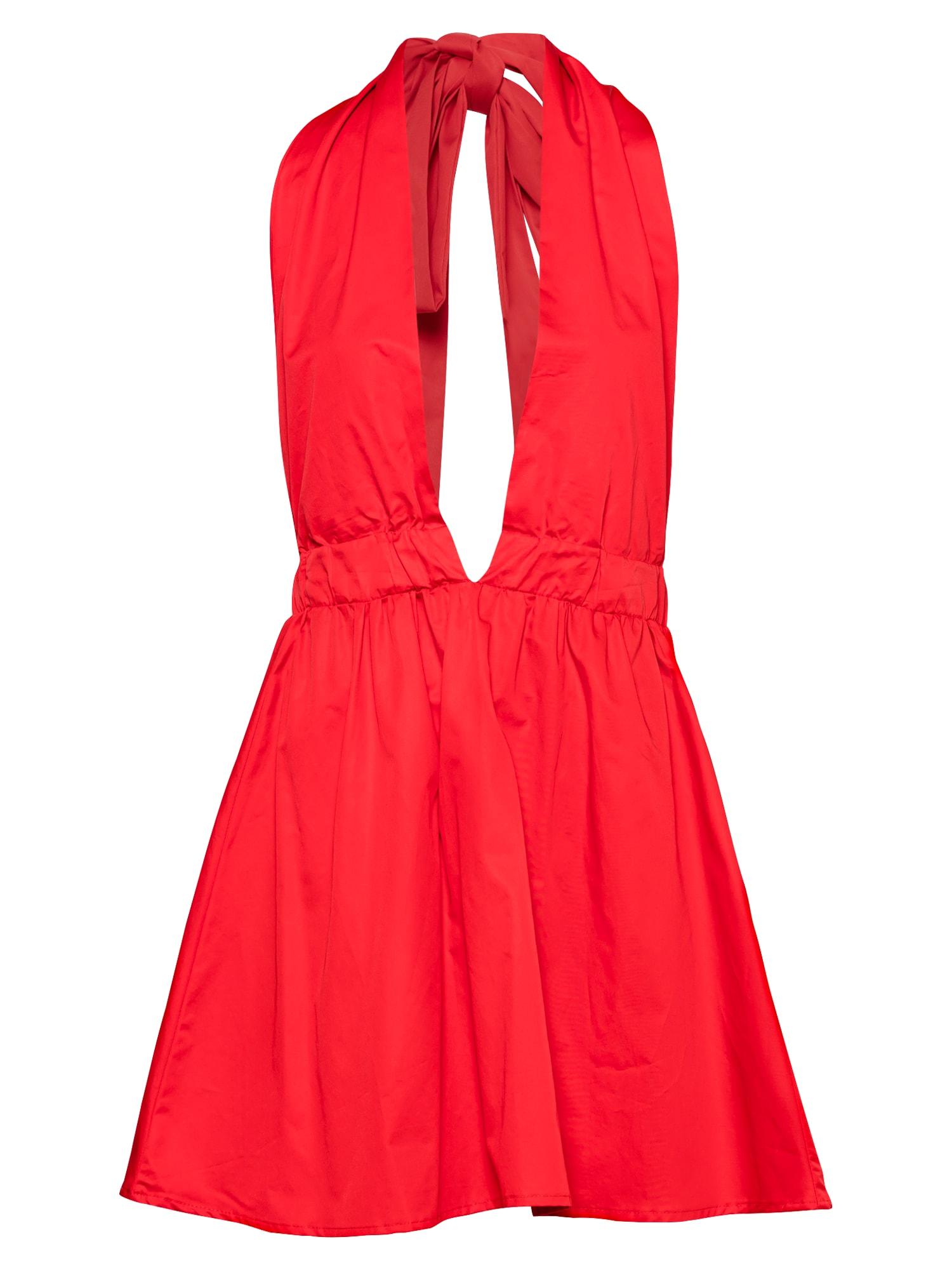 KENDALL + KYLIE Kokteilinė suknelė raudona