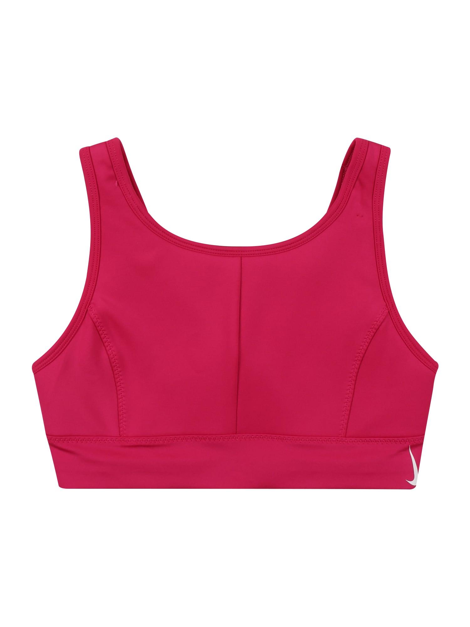 NIKE Sportinio stiliaus apatiniai drabužiai uogų spalva