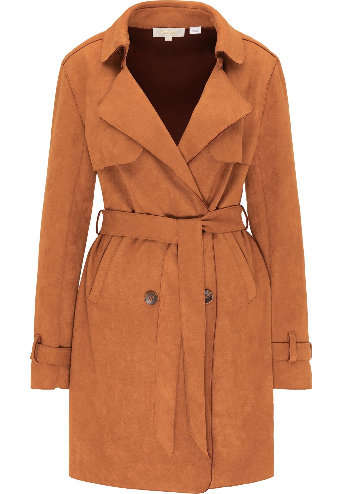 usha FESTIVAL Demisezoninis paltas karamelės