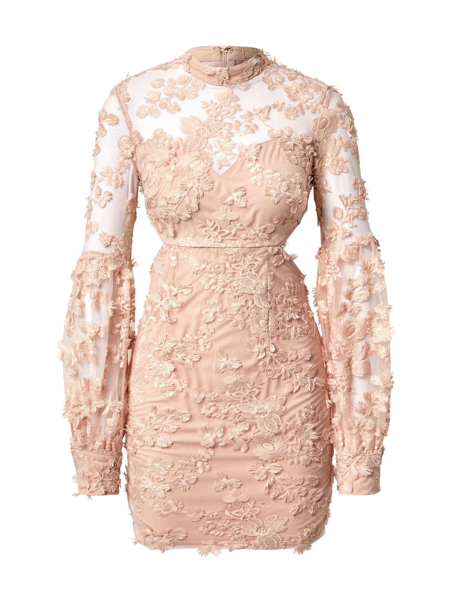 Love Triangle Šaty  růžová