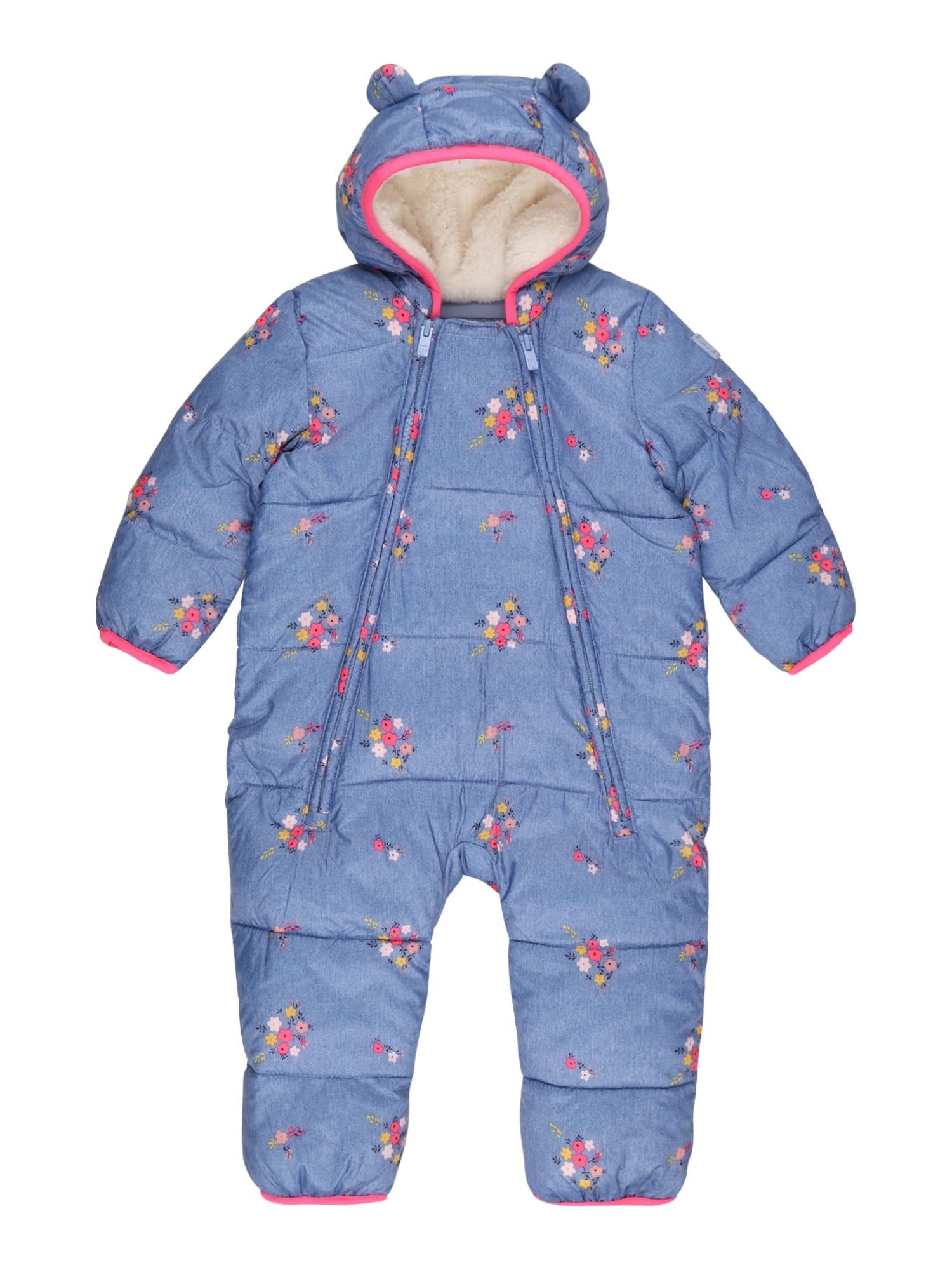 GAP Funkcinis kostiumas mėlyna dūmų spalva / mišrios spalvos