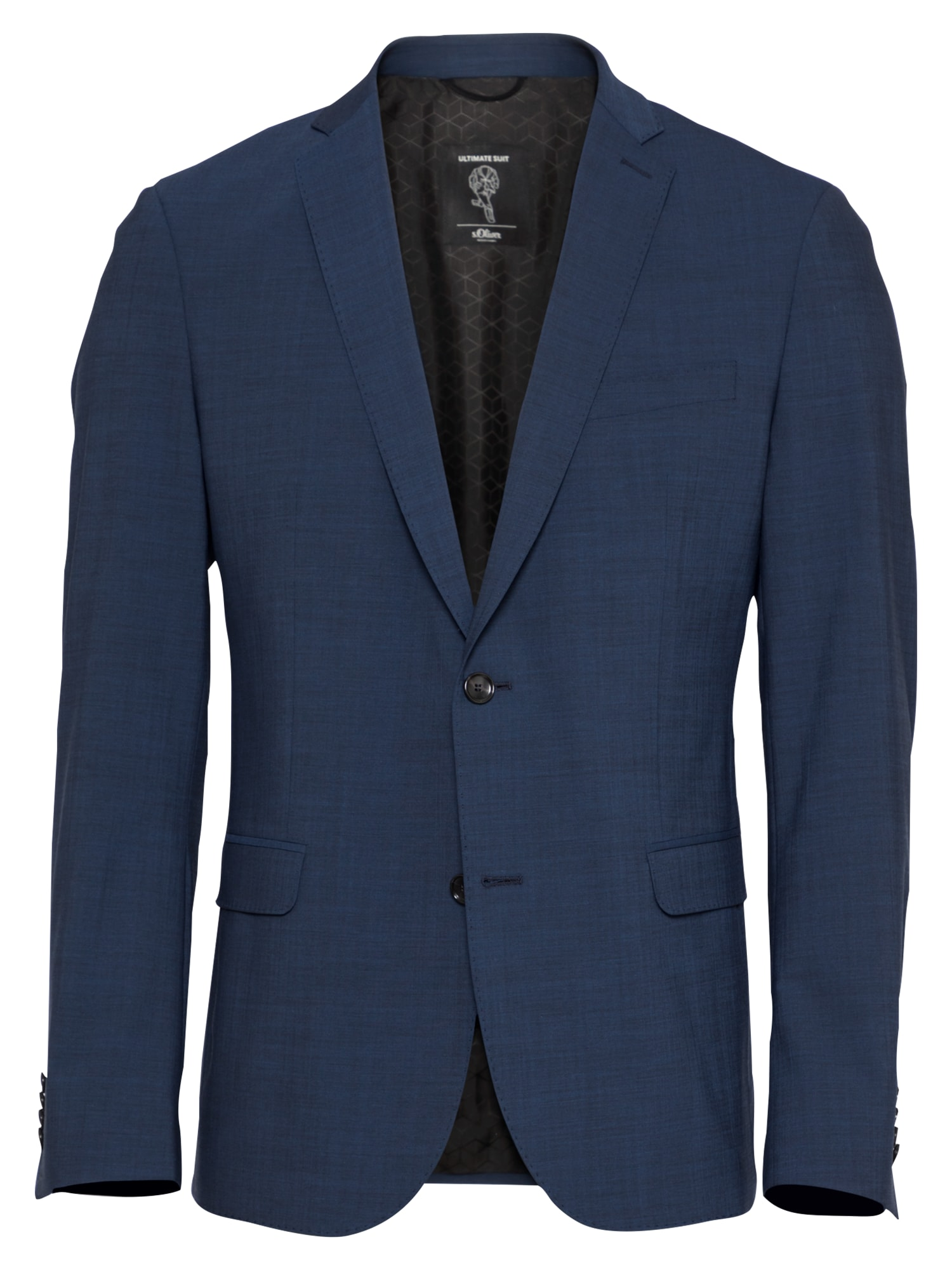 s.Oliver BLACK LABEL Klasikinis švarkas tamsiai mėlyna