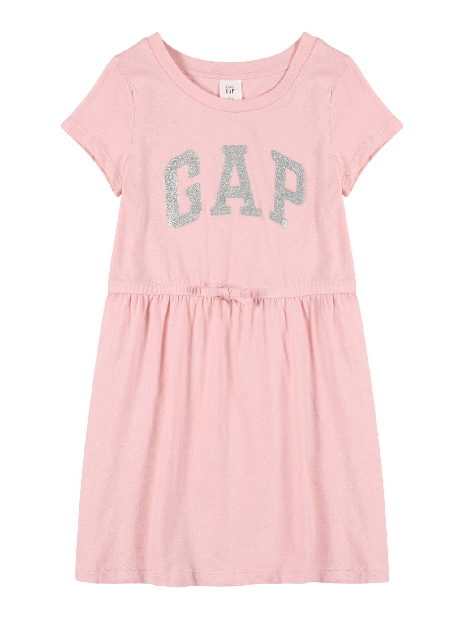 GAP Suknelė rožinė / sidabrinė