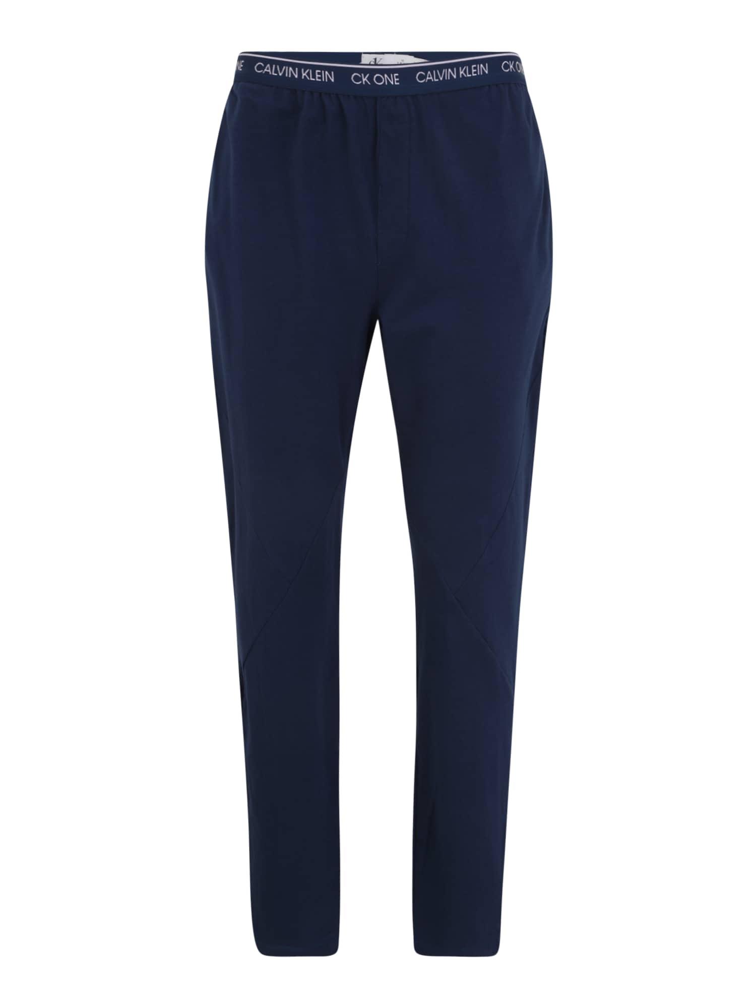 Calvin Klein Underwear Pyžamové kalhoty  námořnická modř