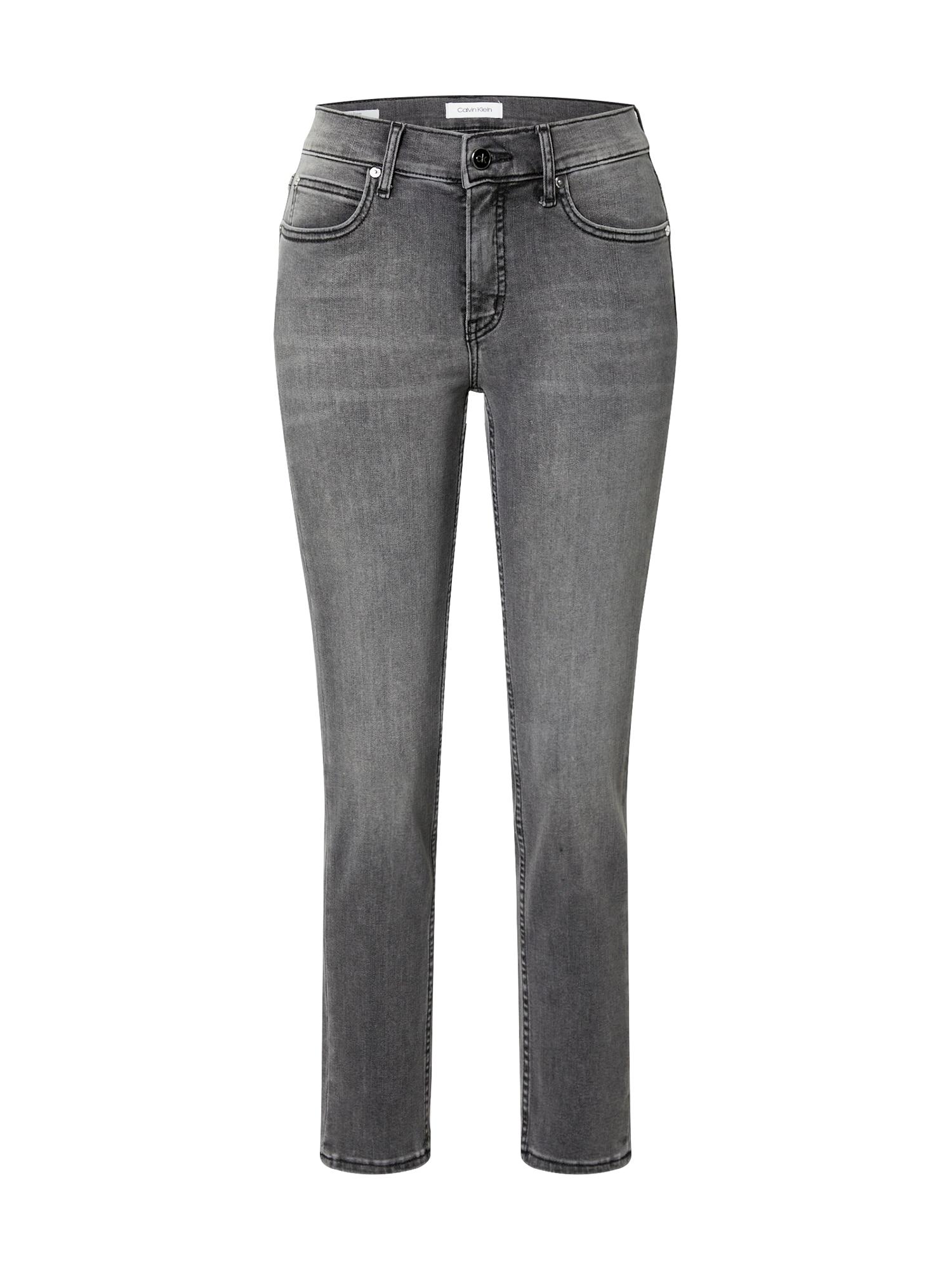 Calvin Klein Džinsai pilko džinso