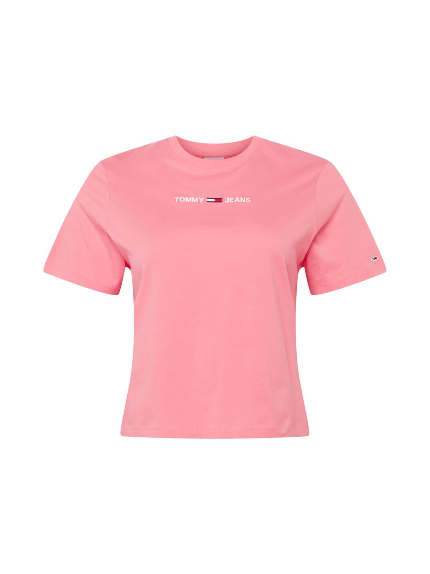 Tommy Jeans Curve Marškinėliai rožinė