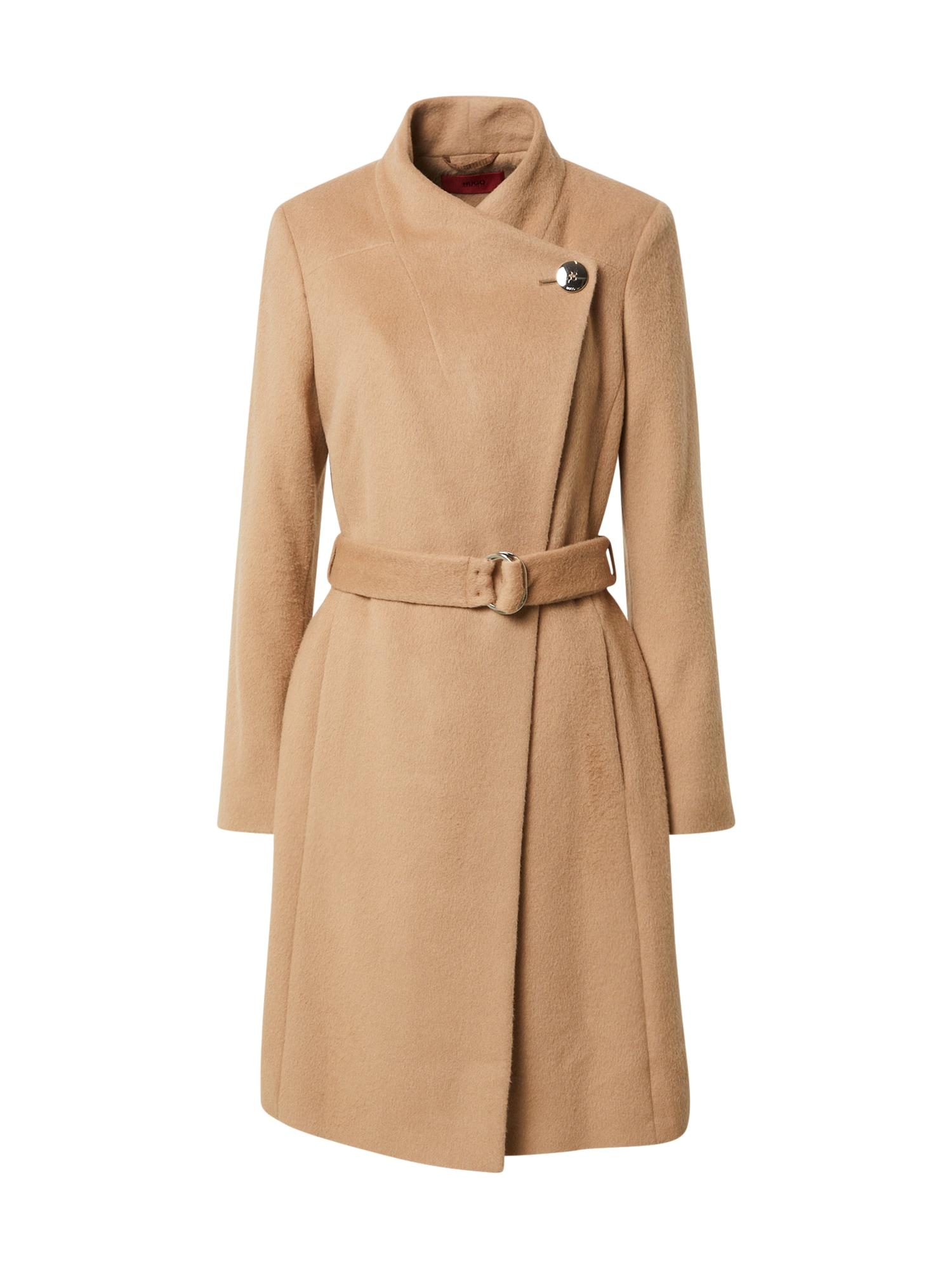 HUGO Rudeninis-žieminis paltas 'Mivala' šviesiai ruda