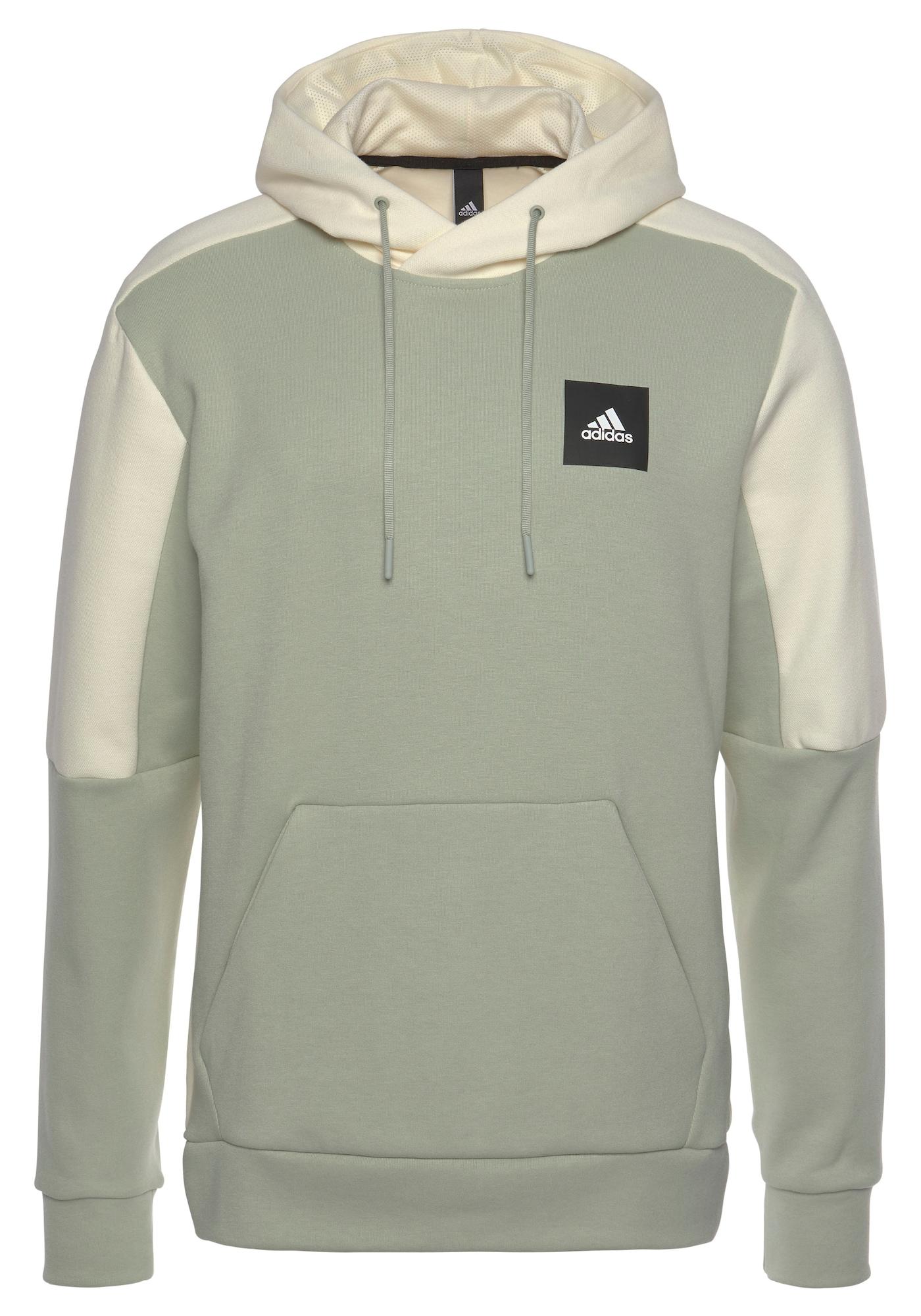 ADIDAS PERFORMANCE Sportinio tipo megztinis 'STADIUM' kremo / pastelinė žalia