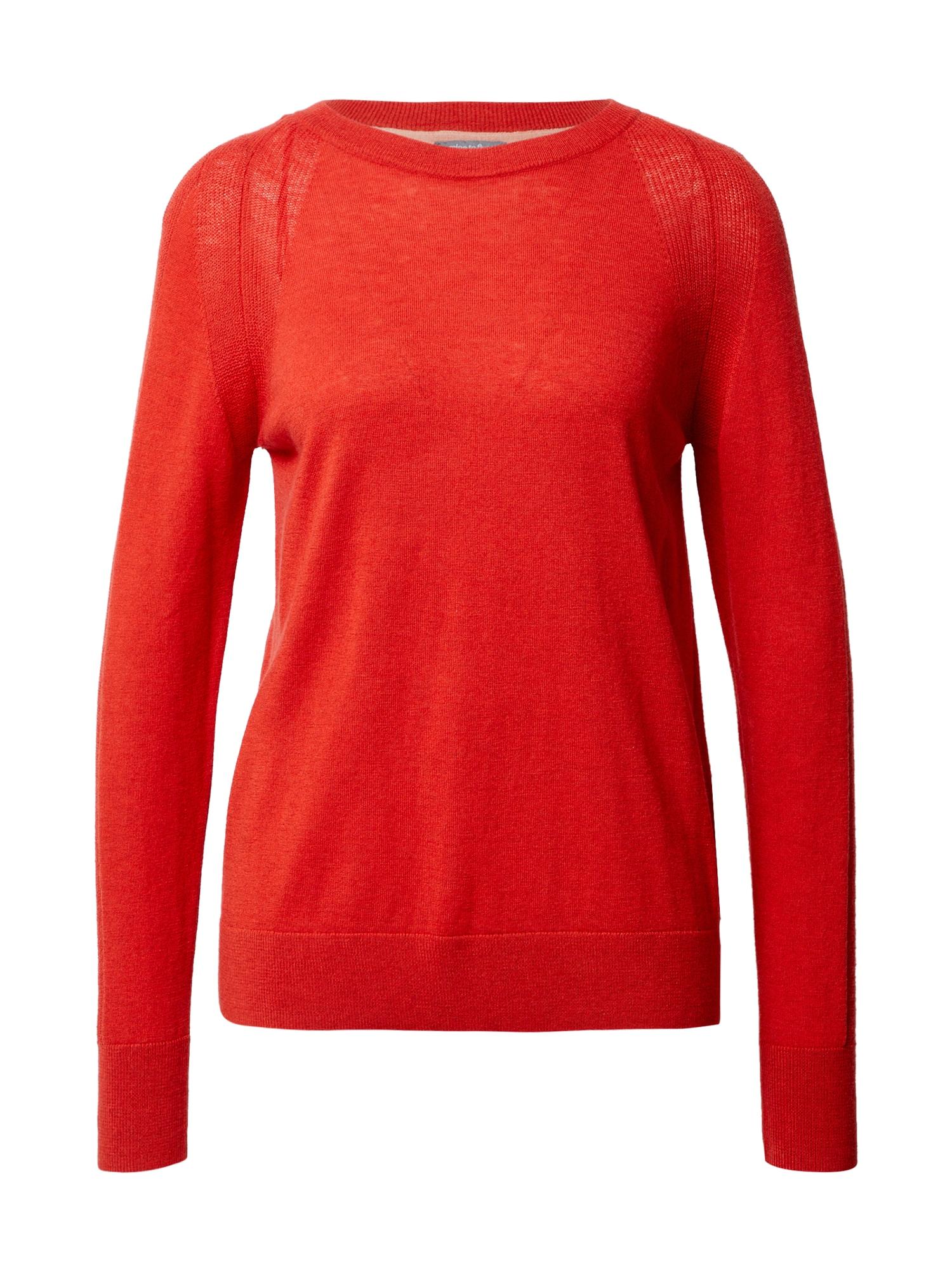 MINE TO FIVE Megztinis šviesiai raudona