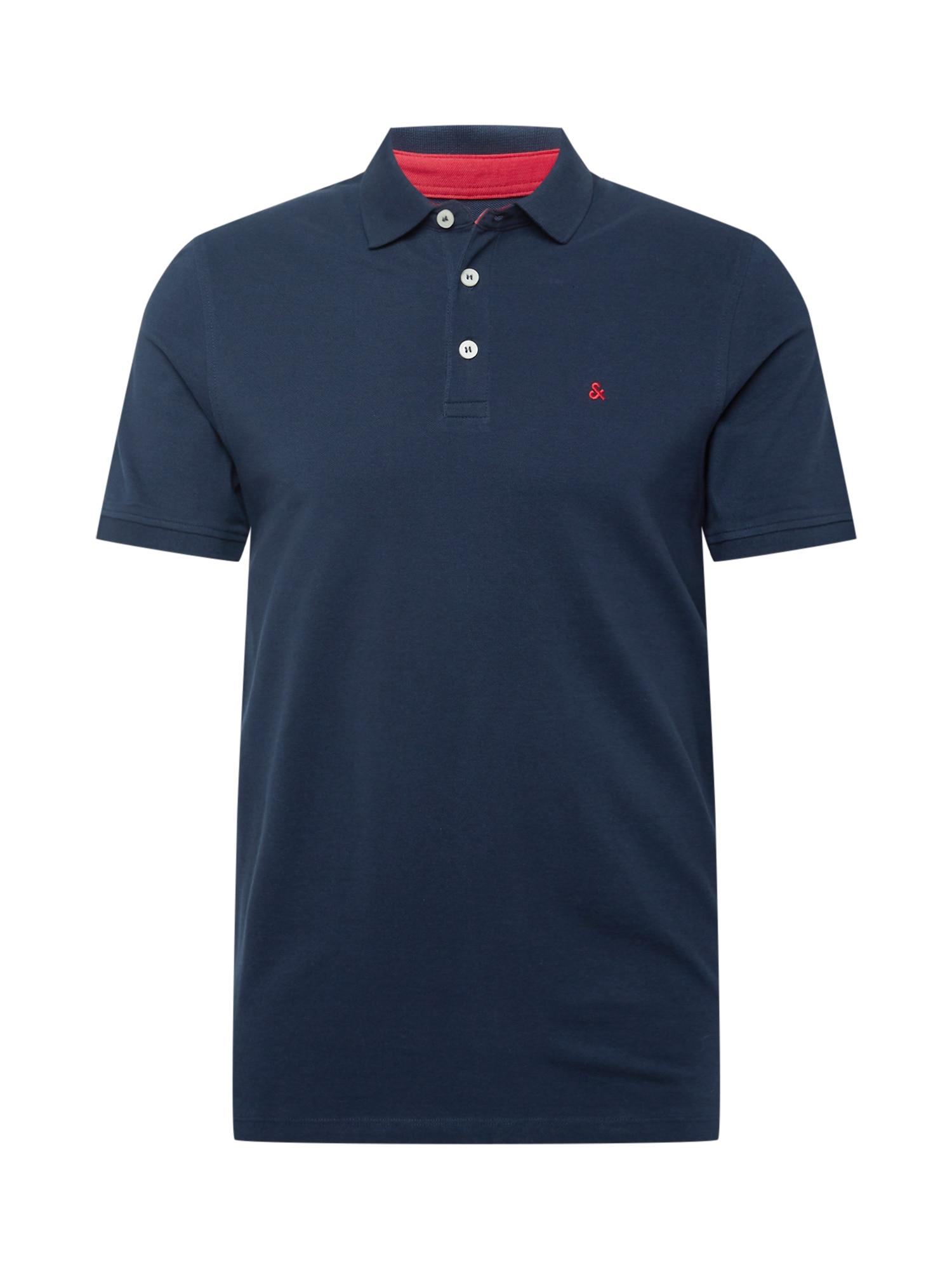 JACK & JONES Tričko 'Paulos'  námornícka modrá