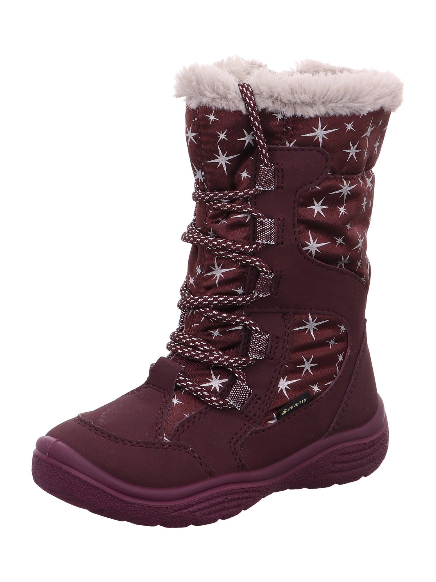 SUPERFIT Sniego batai 'CRYSTAL' raudona / sidabras
