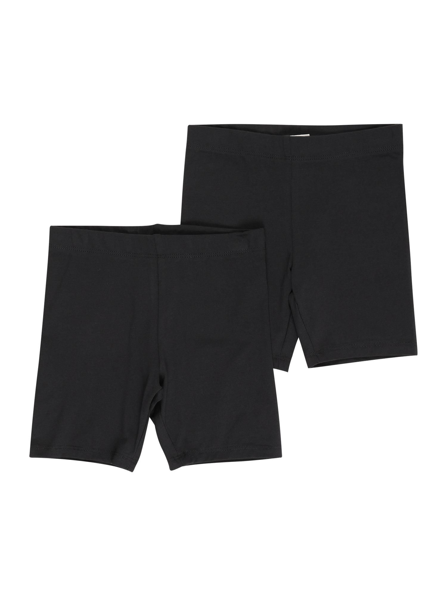 Gina Tricot Mini Kelnės juoda