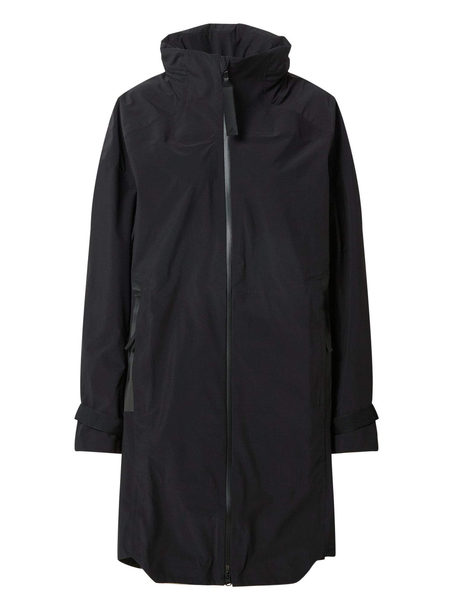 ADIDAS PERFORMANCE Laisvalaikio paltas juoda