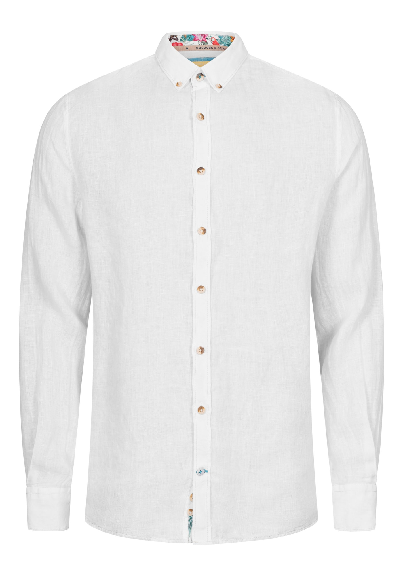 COLOURS & SONS Marškiniai 'Liam' balta