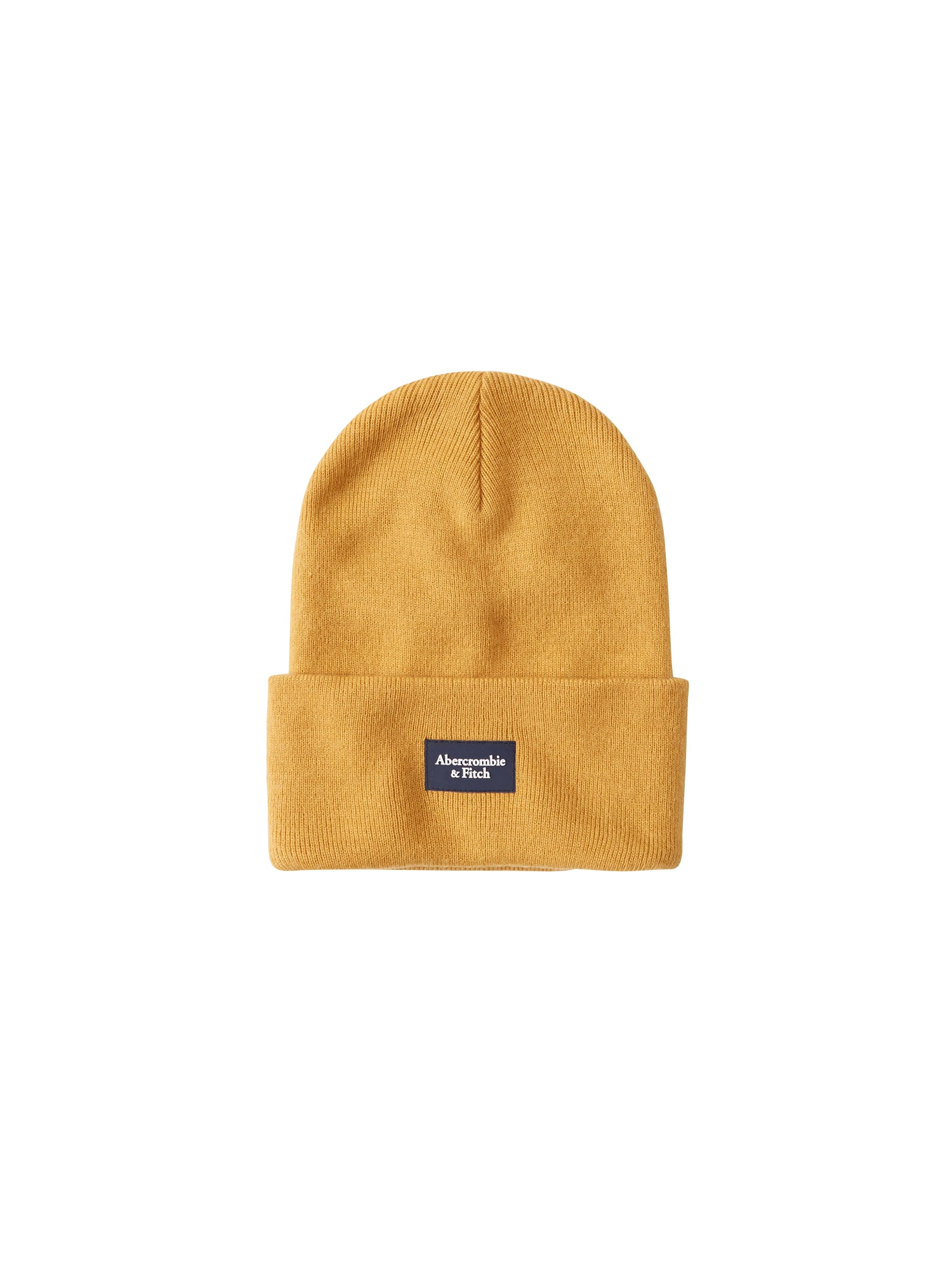 Abercrombie & Fitch Čepice 'BEANIE CORE TURN UP'  žlutá