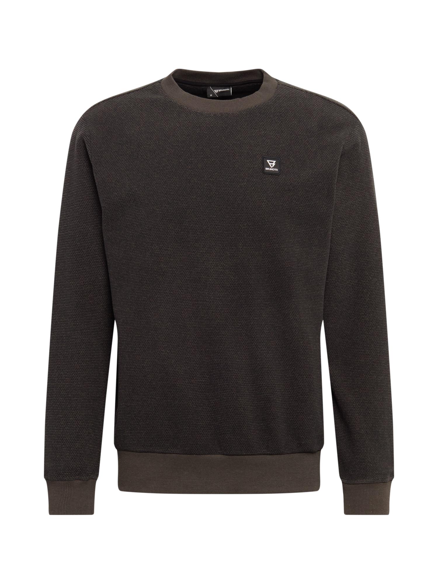 BRUNOTTI Sportinis megztinis tamsiai pilka
