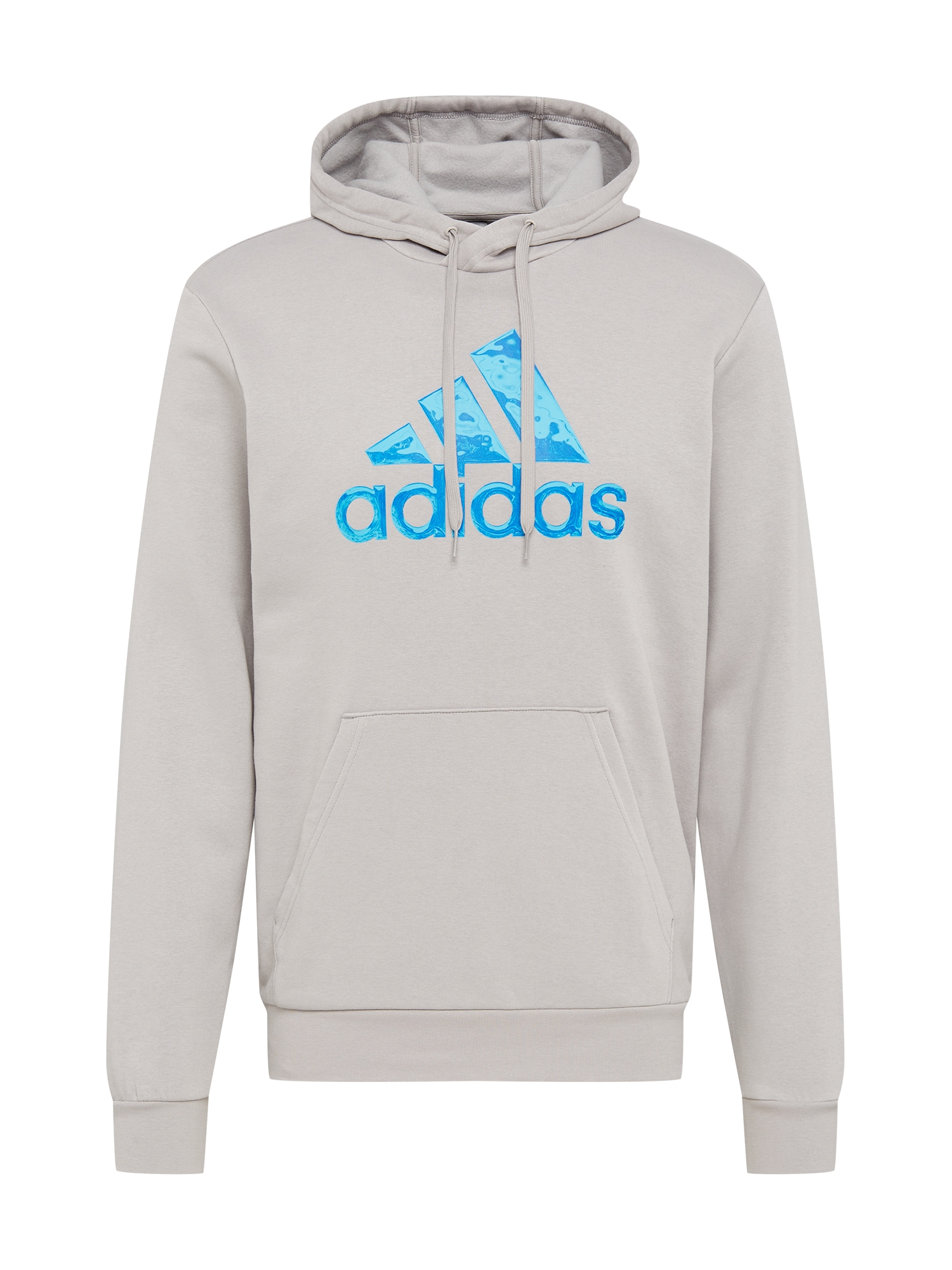ADIDAS PERFORMANCE Sportinio tipo megztinis šviesiai pilka / vandens spalva