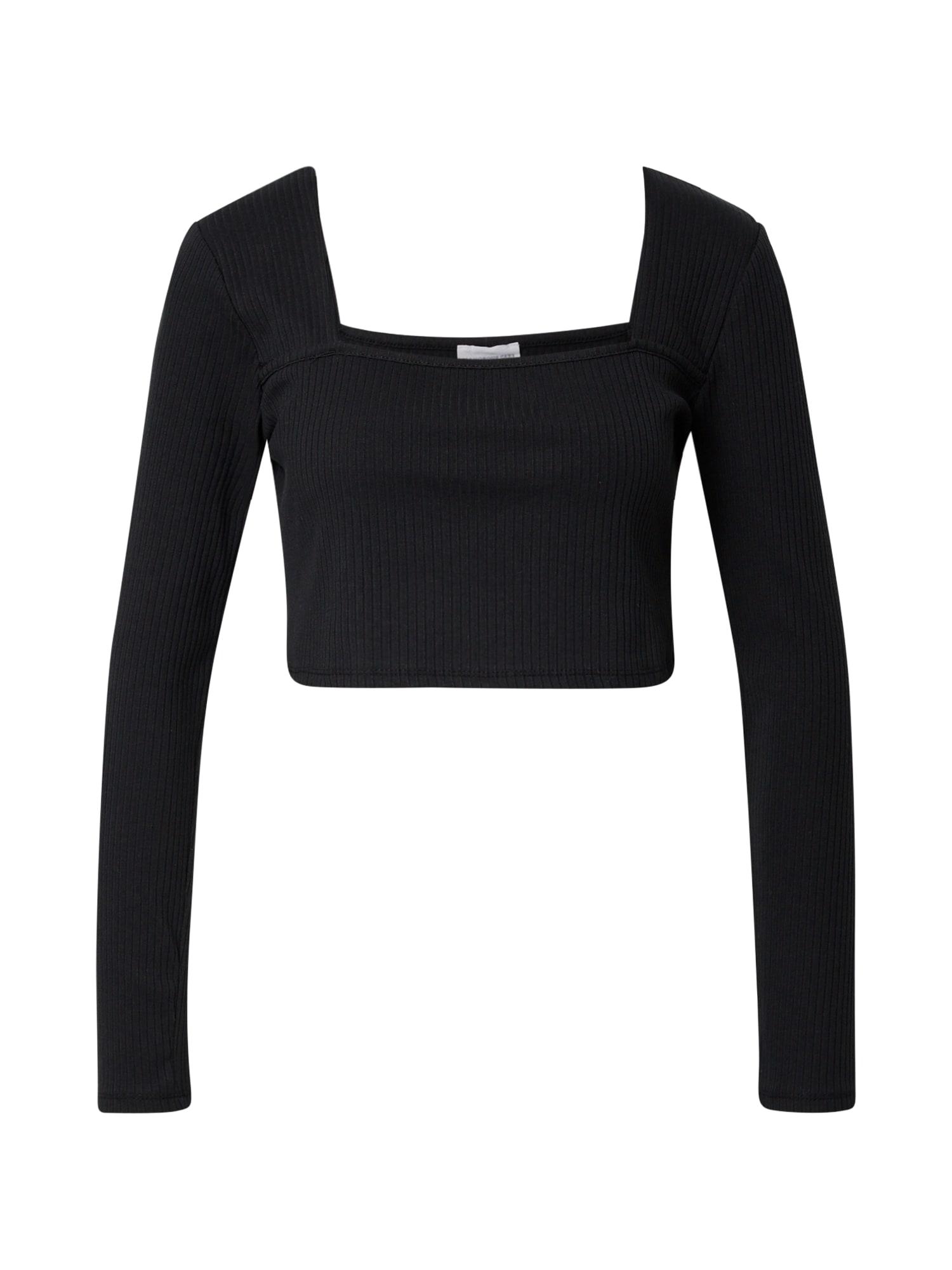 GLAMOROUS Marškinėliai juoda
