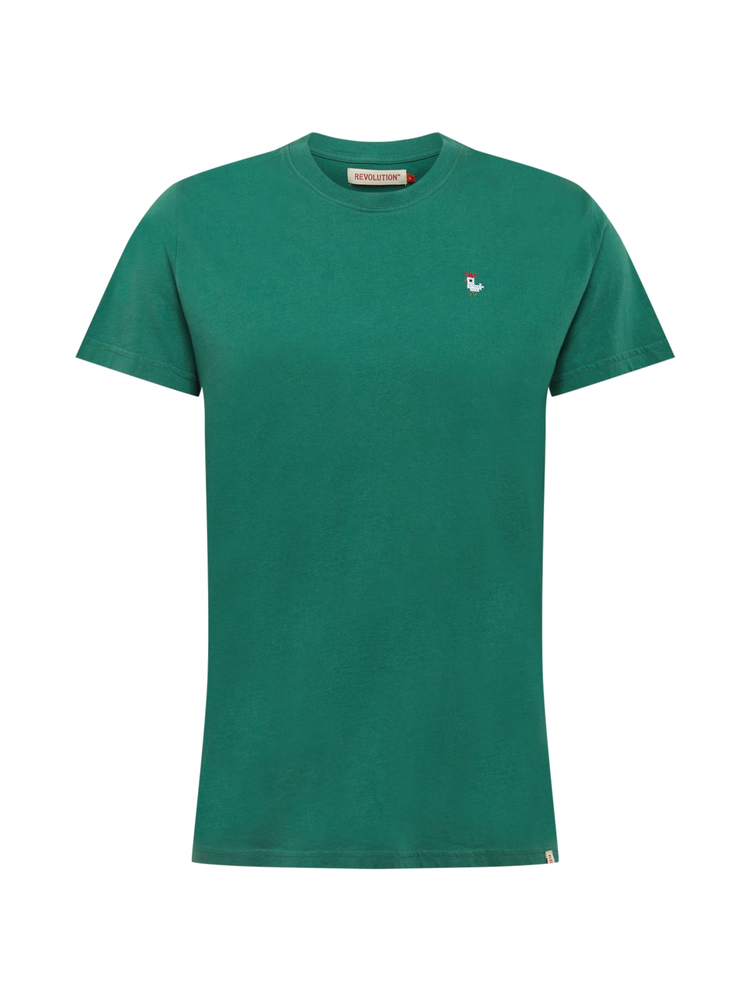 Revolution Marškinėliai žalia / balta / raudona / ruda
