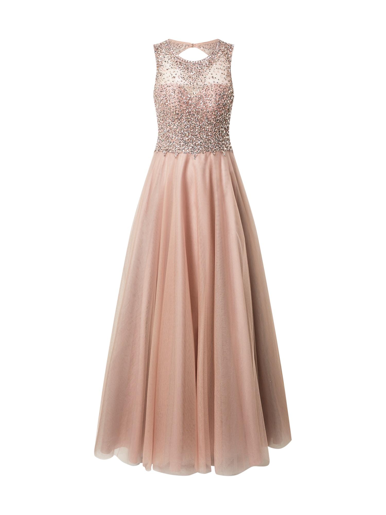 Unique Vakarinė suknelė ryškiai rožinė spalva