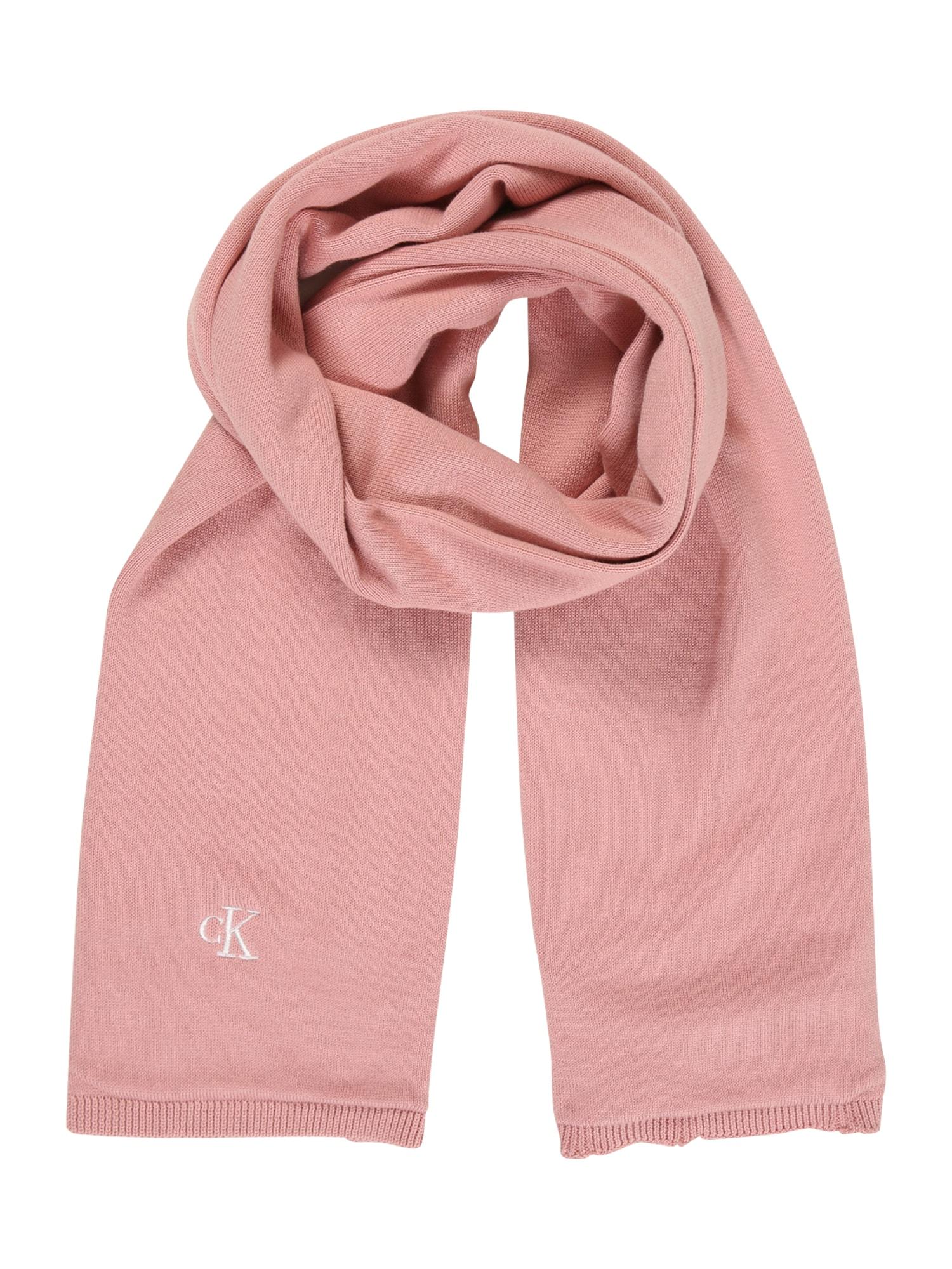 Calvin Klein Jeans Šalikas rožių spalva