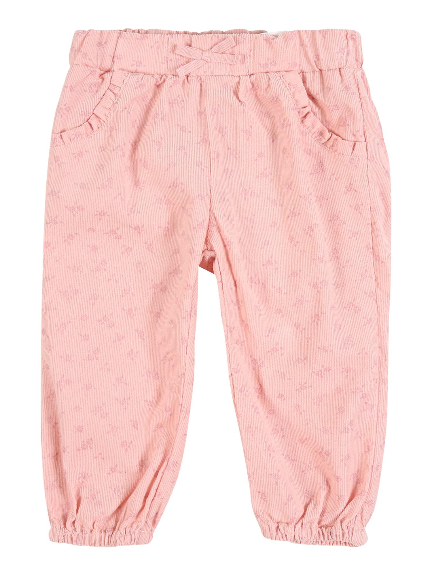 NAME IT Kelnės 'OANNA' persikų spalva / šviesiai rožinė