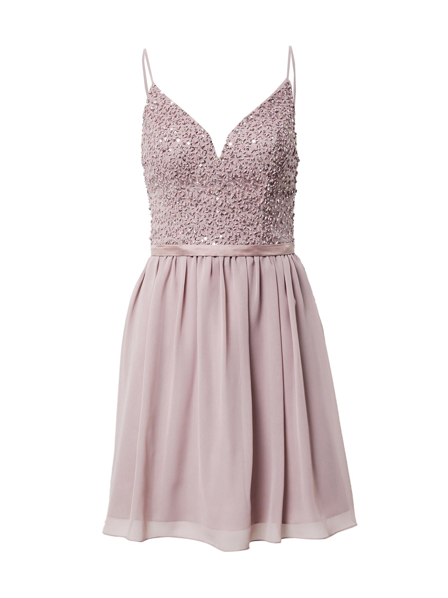 Laona Kokteilinė suknelė ryškiai rožinė spalva