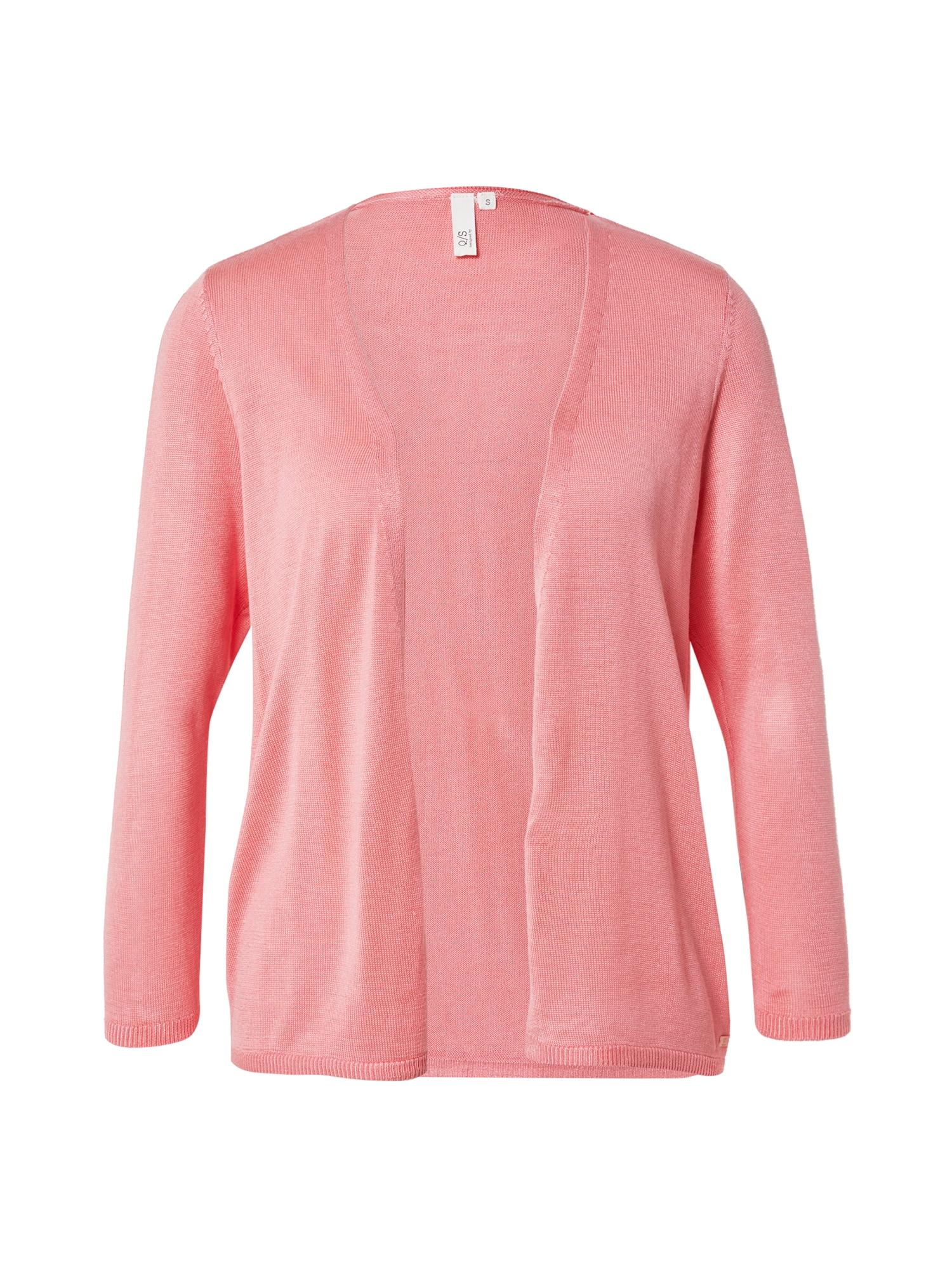 Q/S designed by Kardiganas ryškiai rožinė spalva