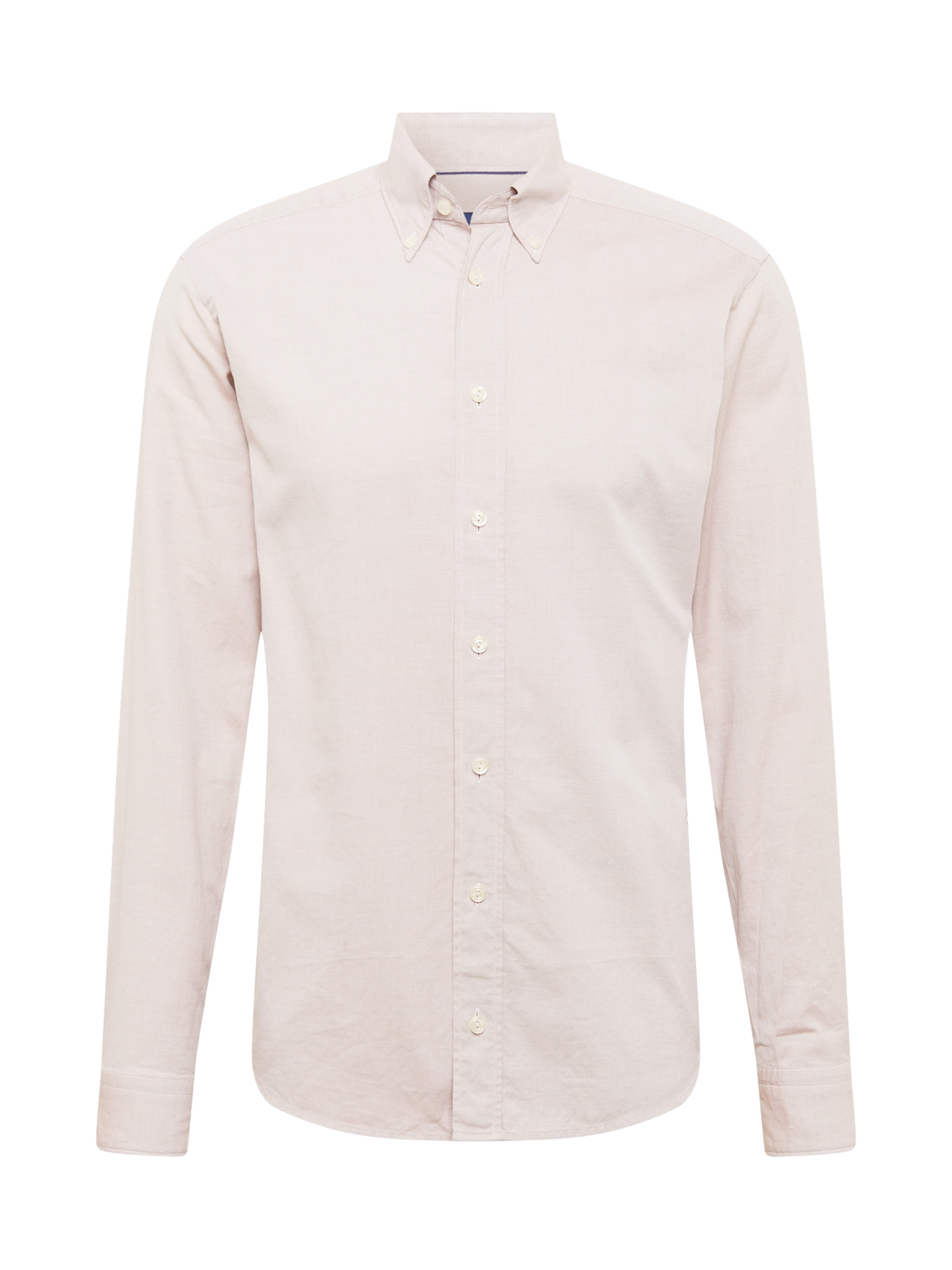 ETON Marškiniai pastelinė raudona / marga smėlio spalva