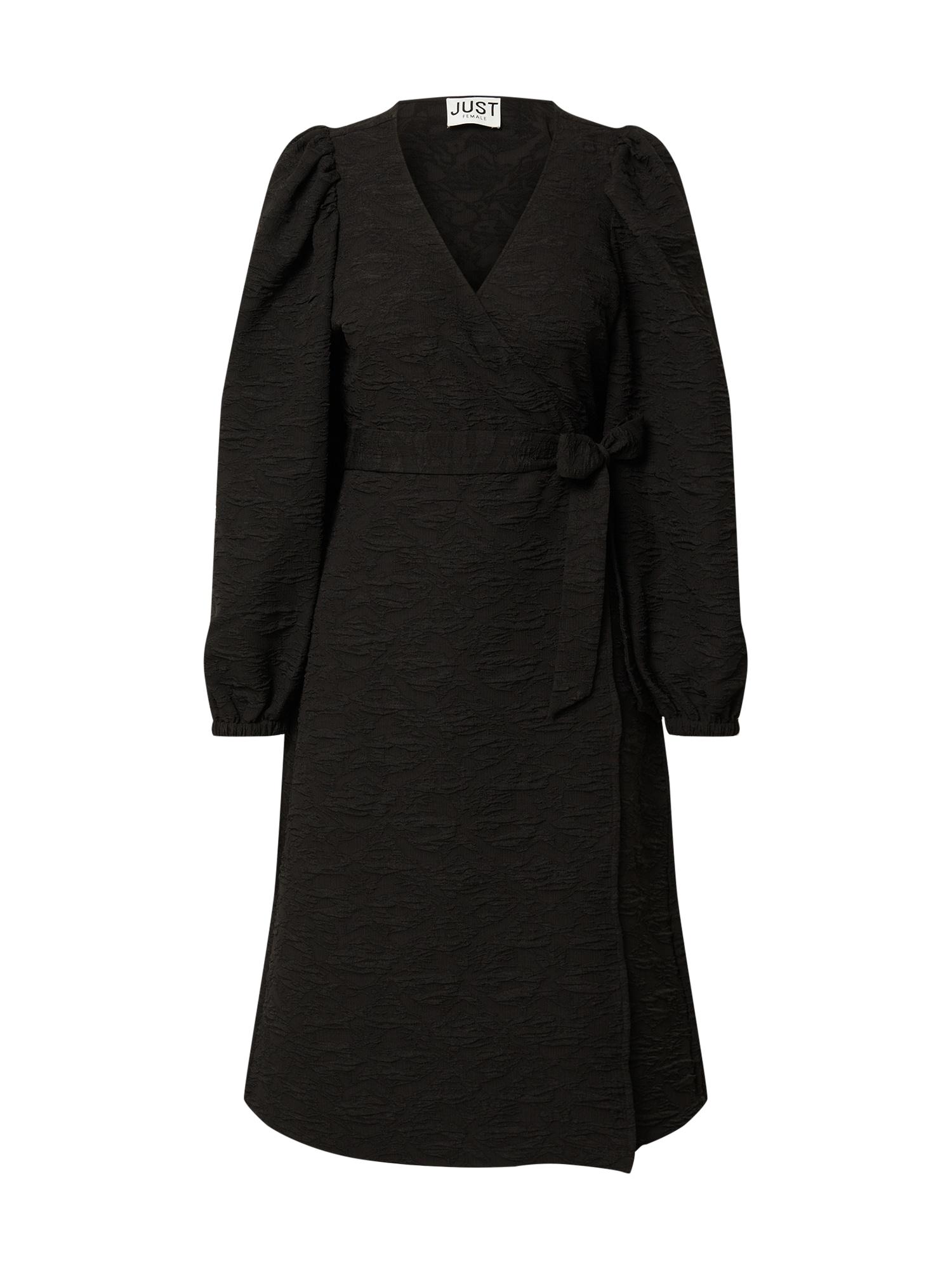 JUST FEMALE Šaty 'Toda'  černá