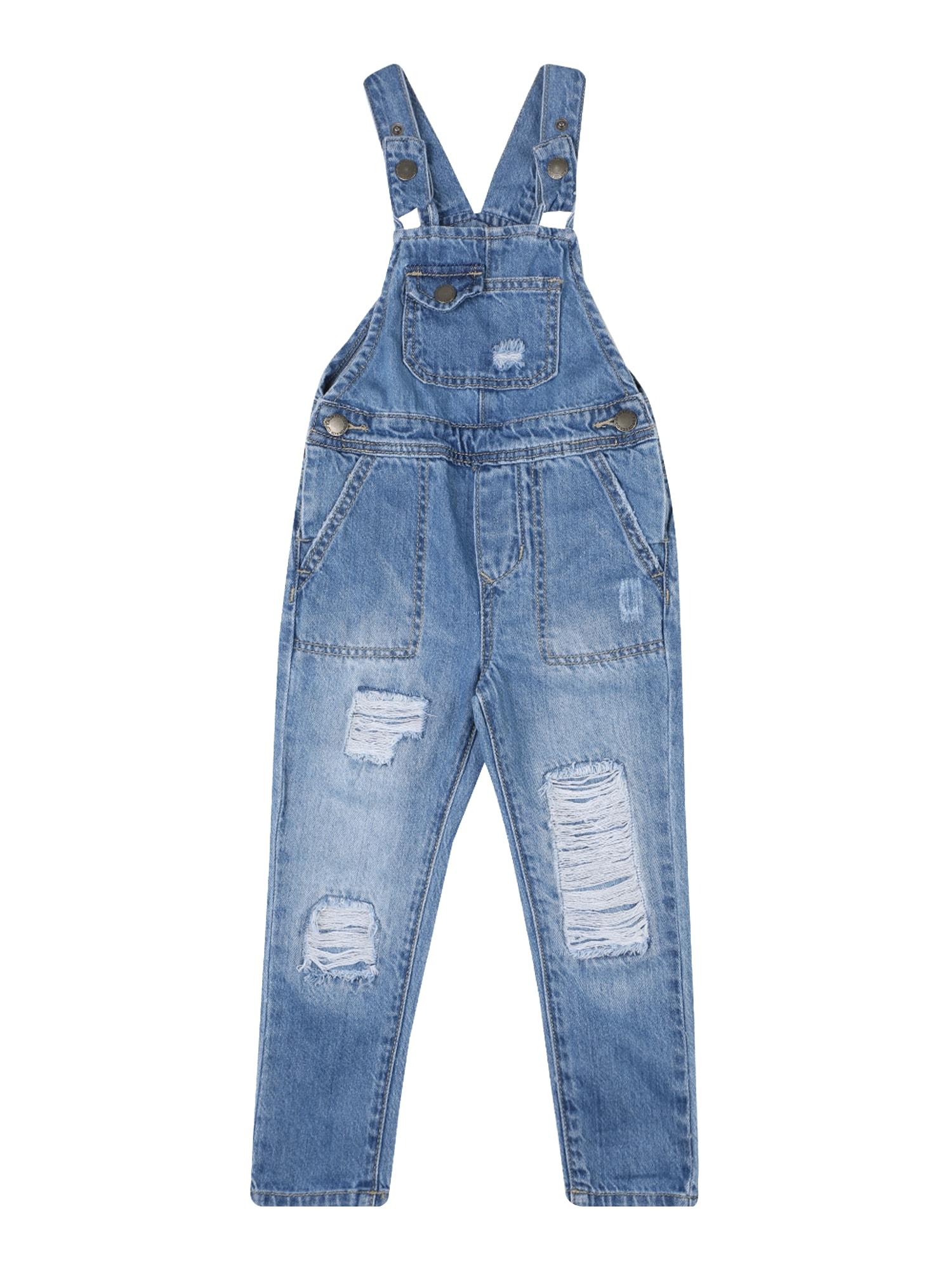 Cotton On Kombinezonas 'Ginnie' tamsiai (džinso) mėlyna
