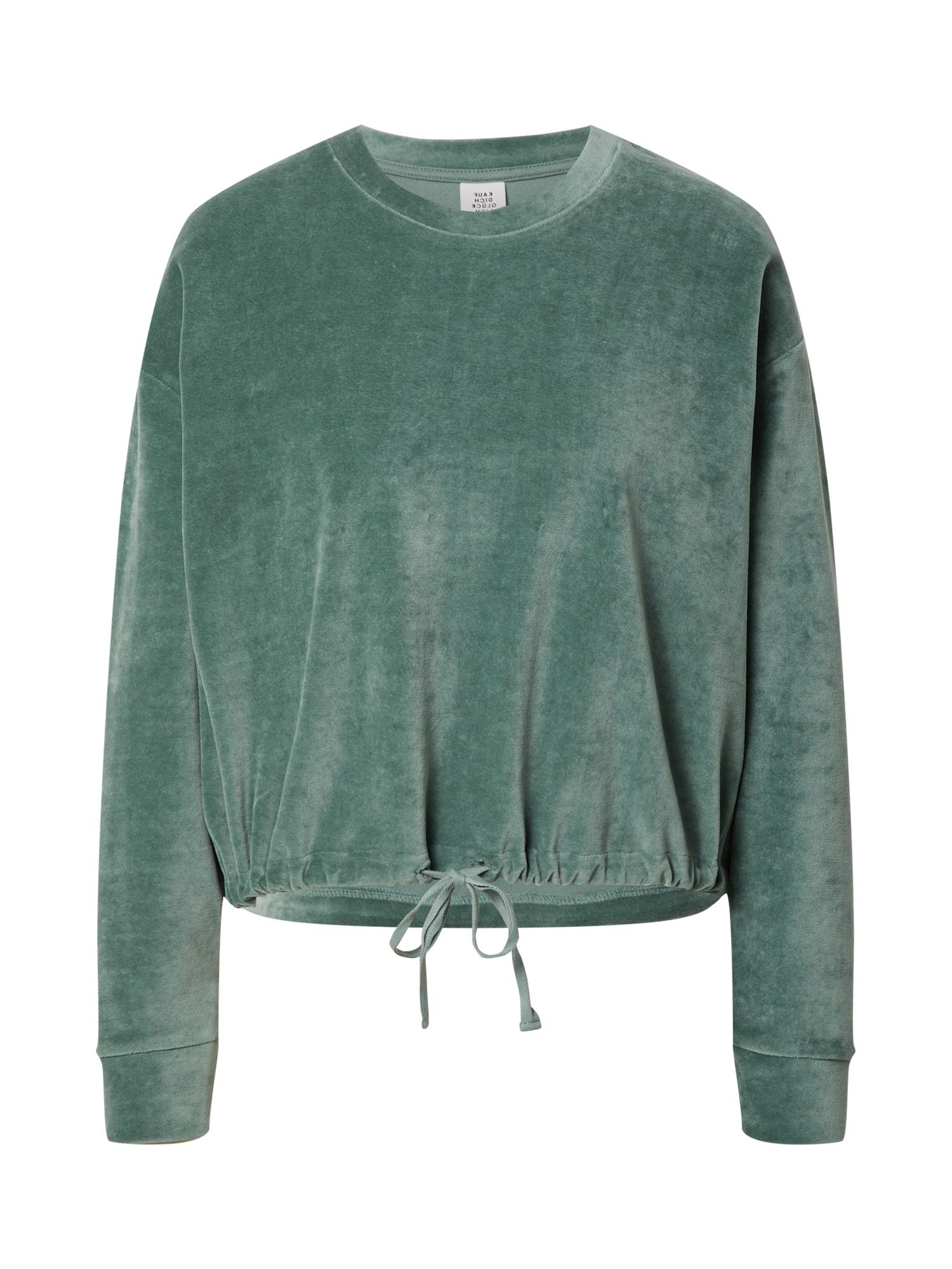 Kauf Dich Glücklich Megztinis be užsegimo smaragdinė spalva