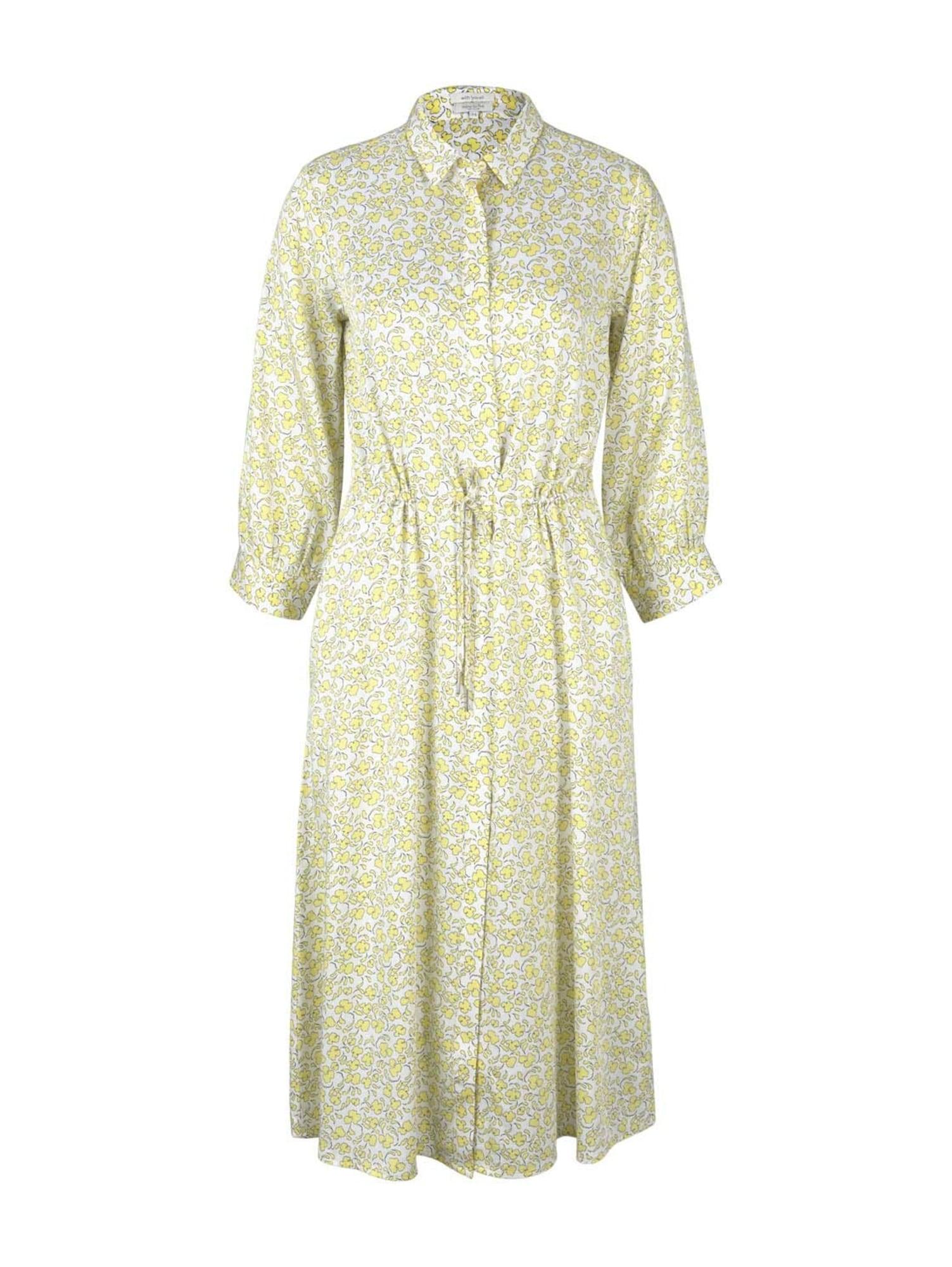 MINE TO FIVE Palaidinės tipo suknelė geltona / balta / juoda