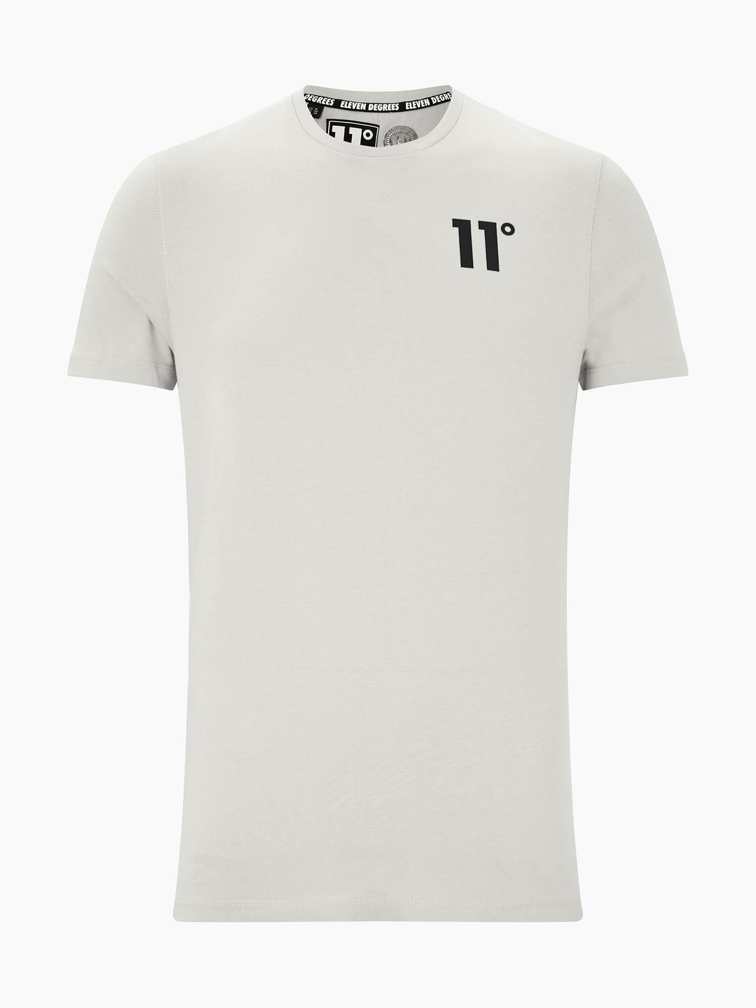 11 Degrees Marškinėliai 'CORE' šviesiai pilka