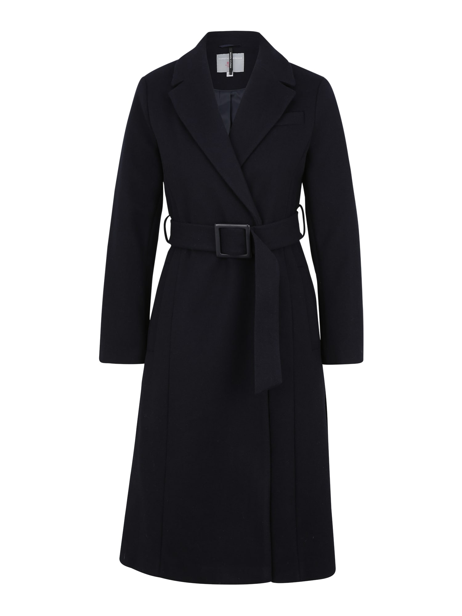 Dorothy Perkins (Petite) Demisezoninis paltas juoda
