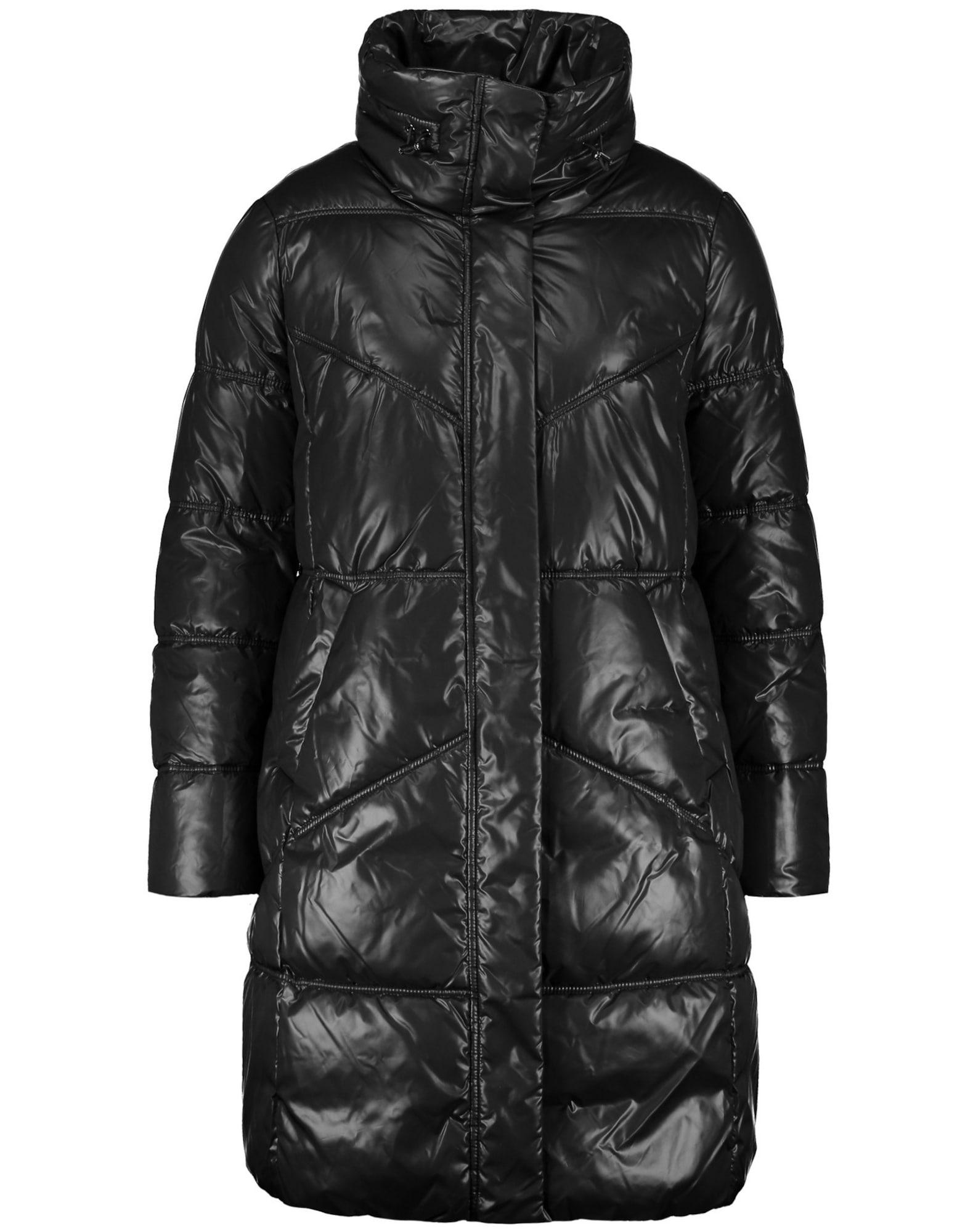 SAMOON Žieminis paltas juoda