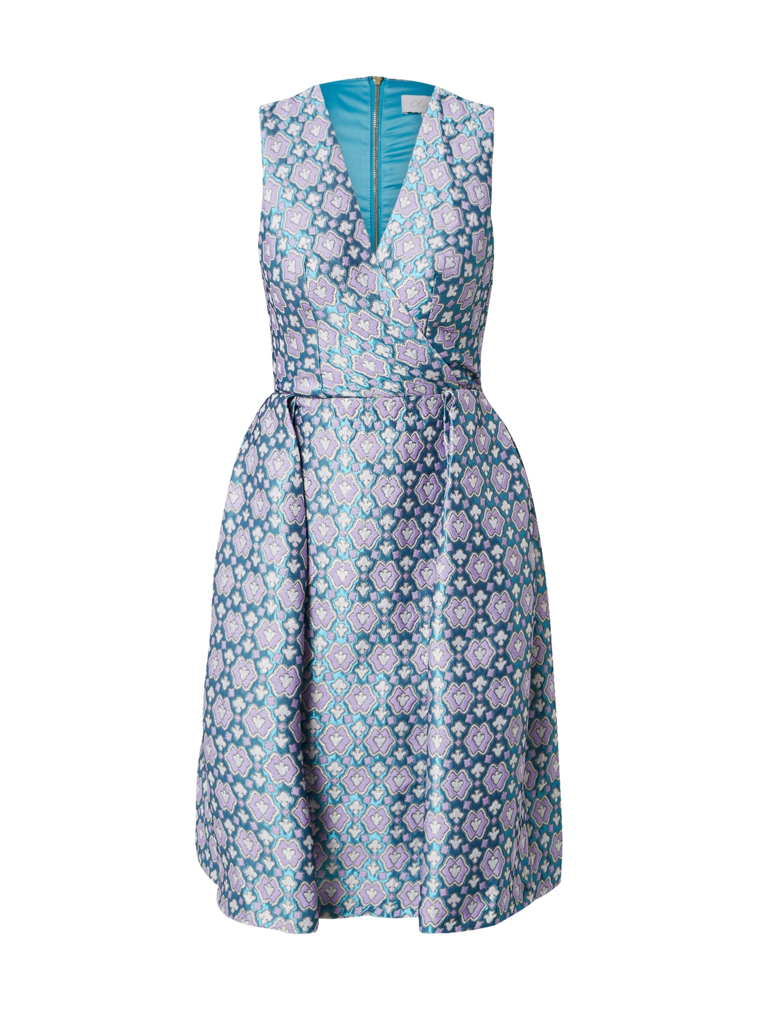 Closet London Suknelė turkio spalva / rožių spalva / balta